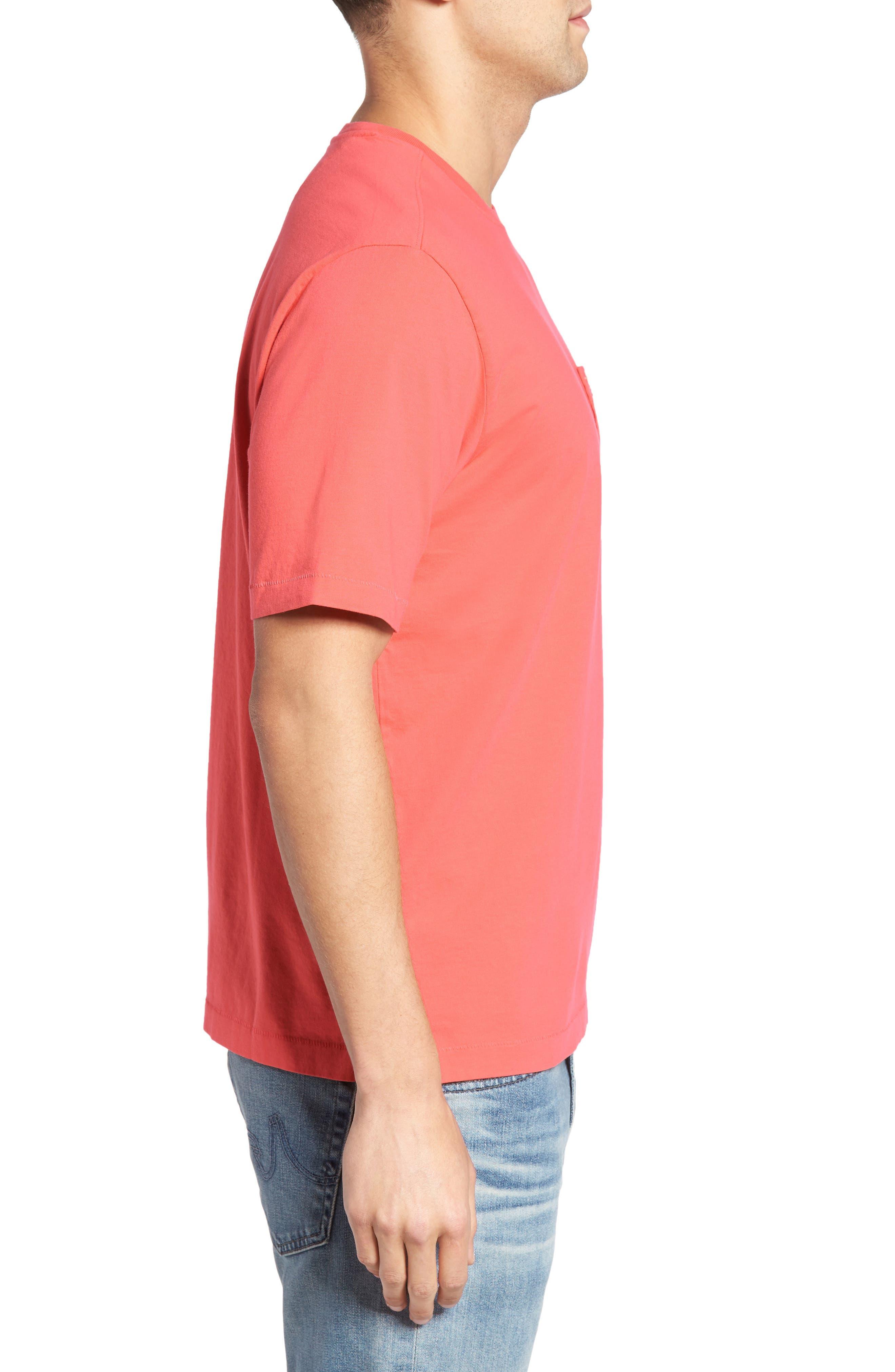New Bali Sky Pima Cotton Pocket T-Shirt,                             Alternate thumbnail 96, color,