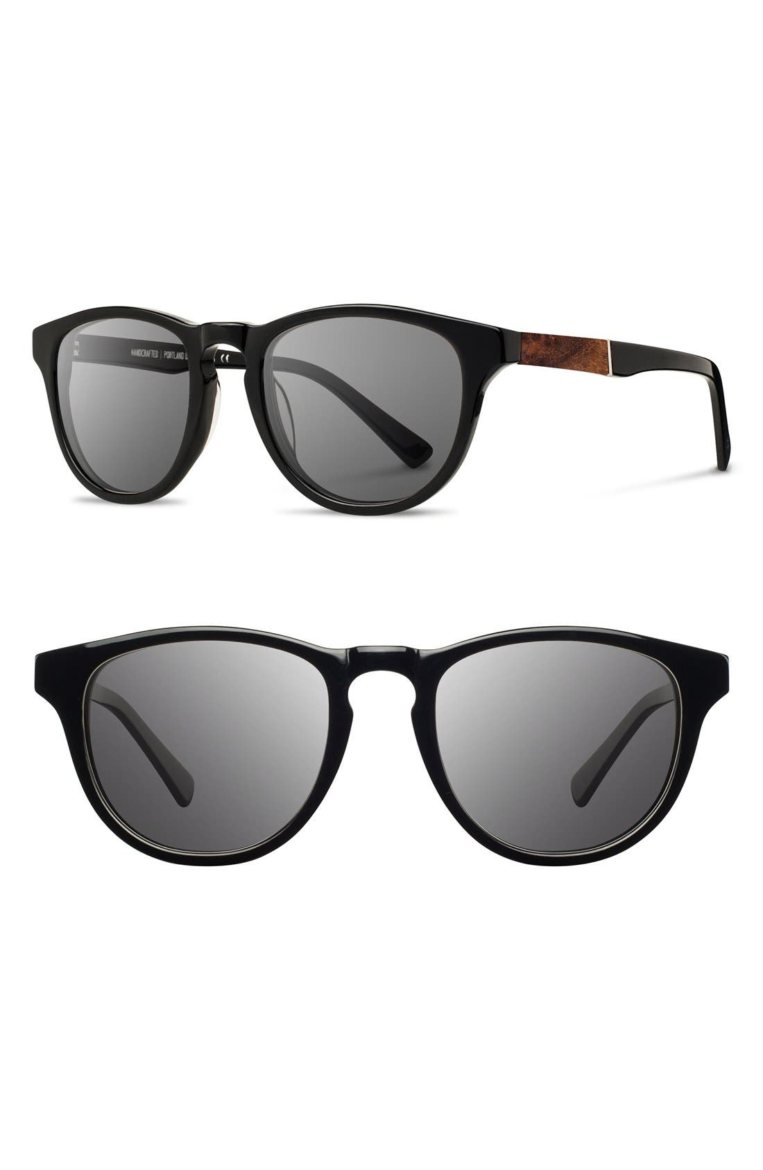 'Francis' 49mm Polarized Sunglasses,                             Main thumbnail 5, color,