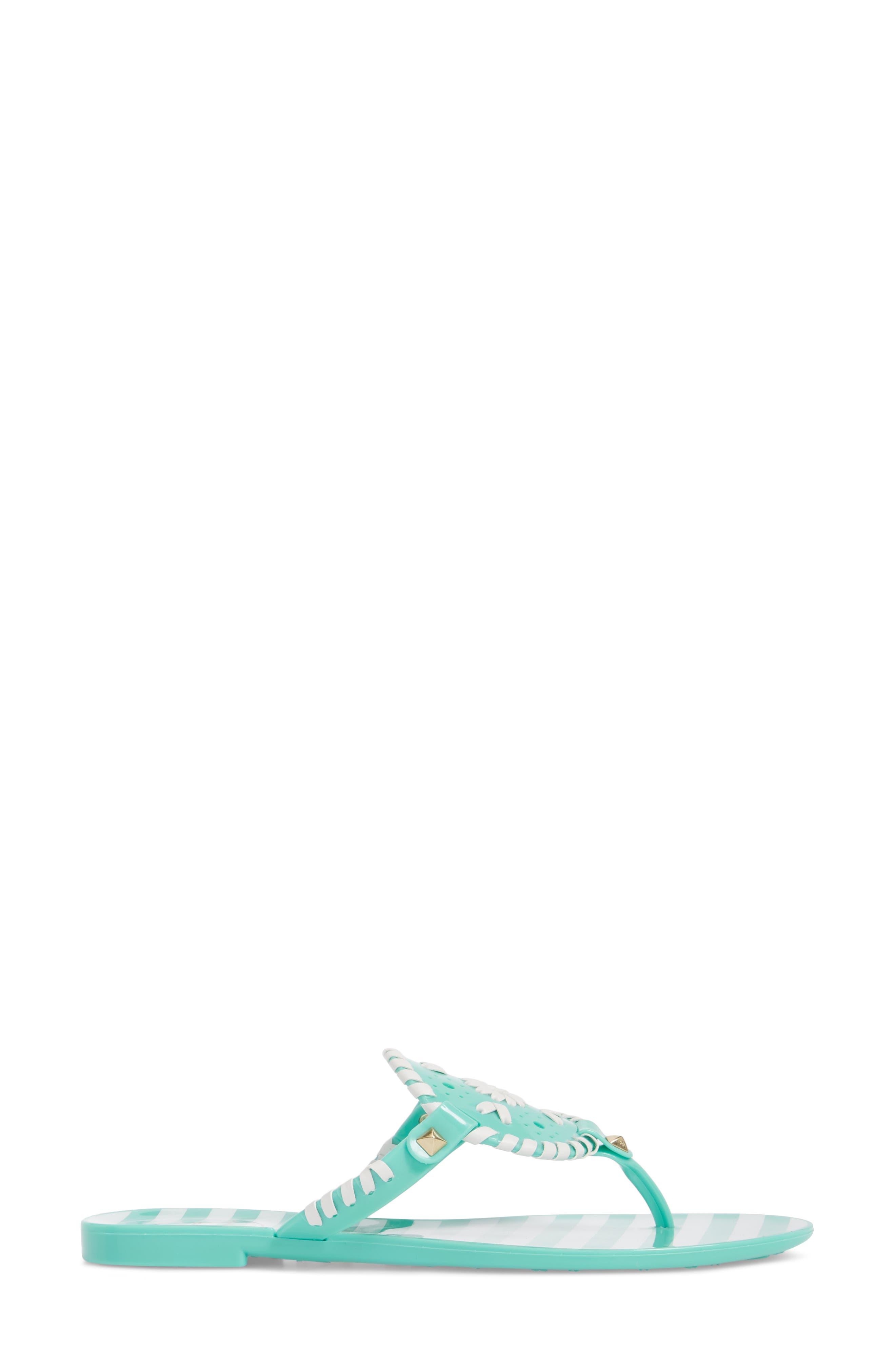 'Georgica' Jelly Flip Flop,                             Alternate thumbnail 89, color,