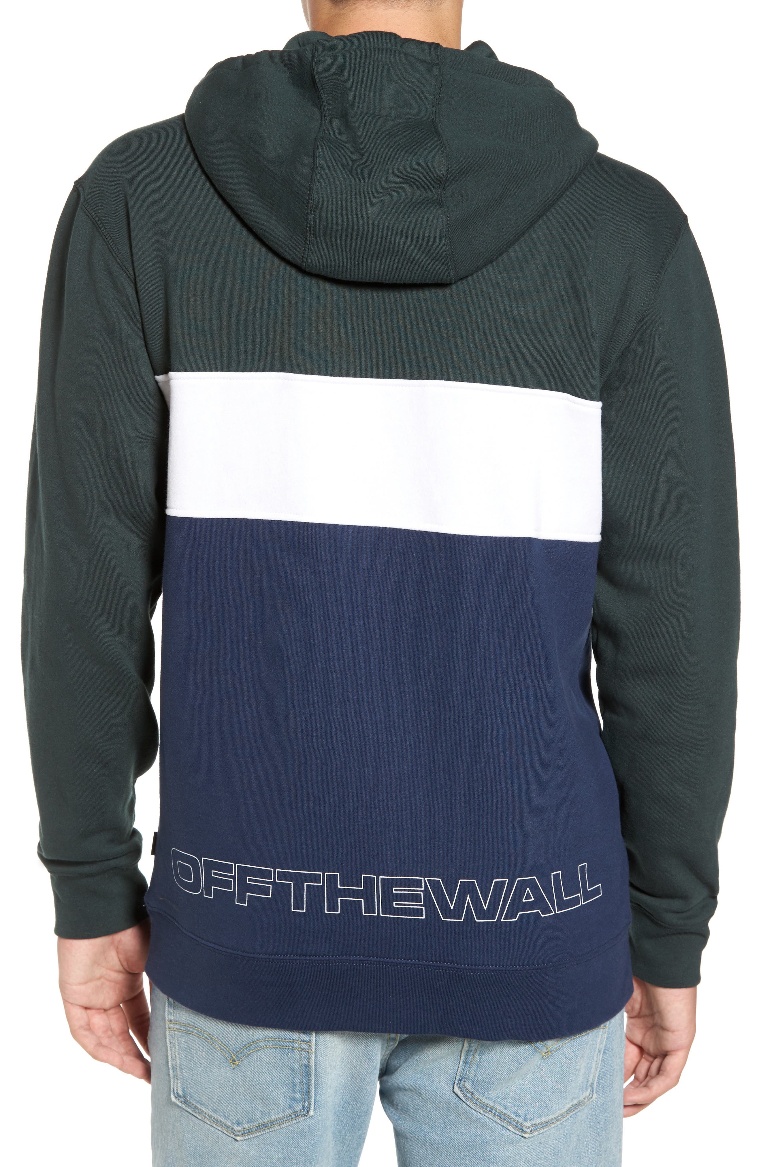 Starboard Fleece Pullover Hoodie,                             Alternate thumbnail 2, color,
