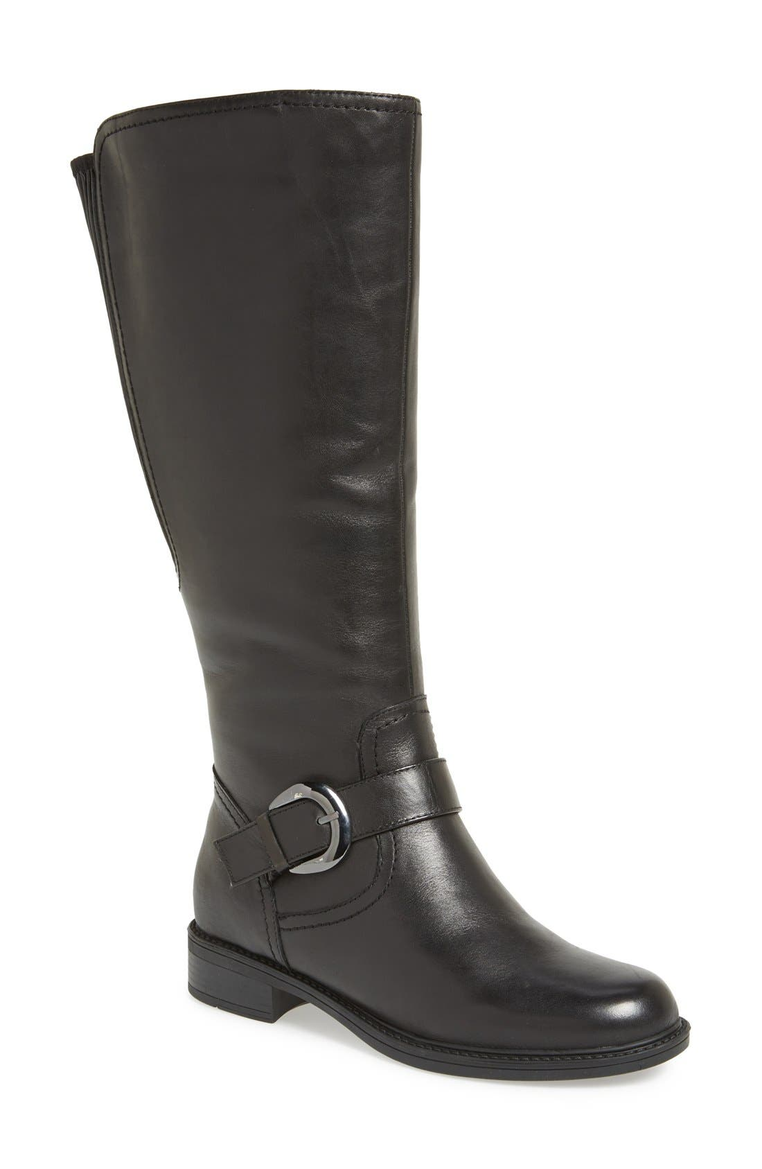 'Branson' Tall Riding Boot,                             Main thumbnail 1, color,                             001