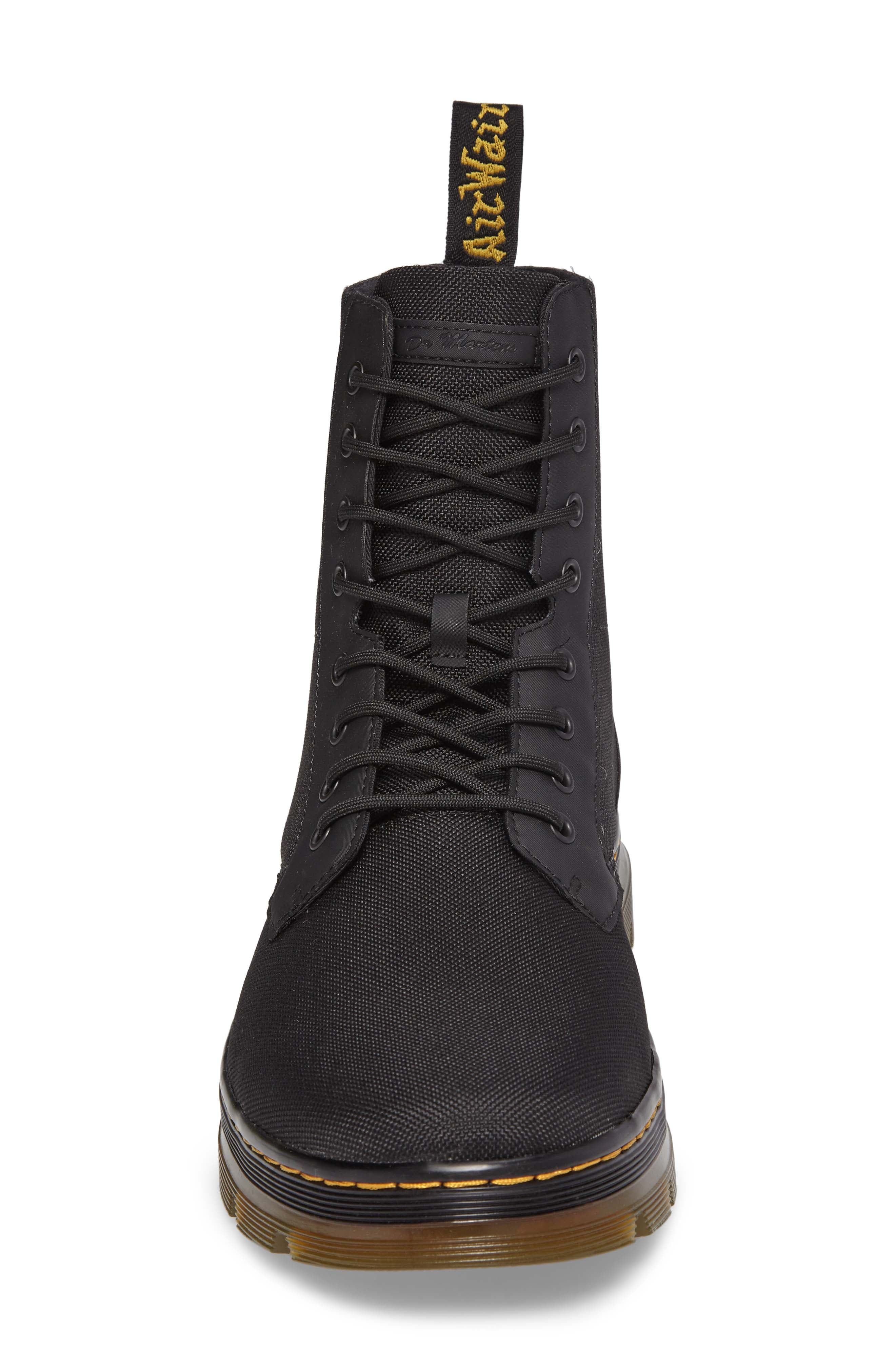 'Combs' Plain Toe Boot,                             Alternate thumbnail 4, color,                             001
