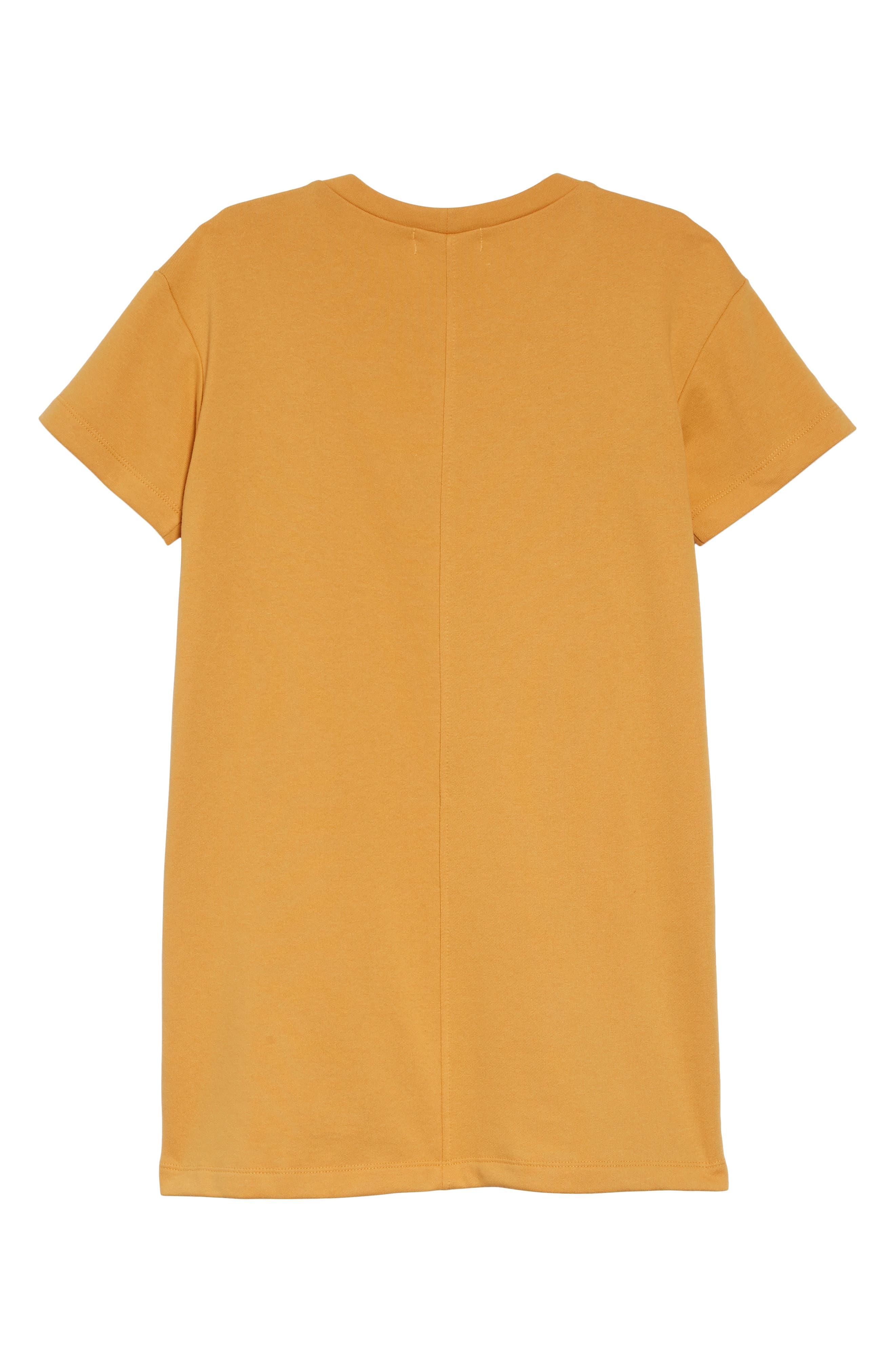 WALKING ON SUNSHINE,                             French Terry Pocket Dress,                             Alternate thumbnail 2, color,                             700