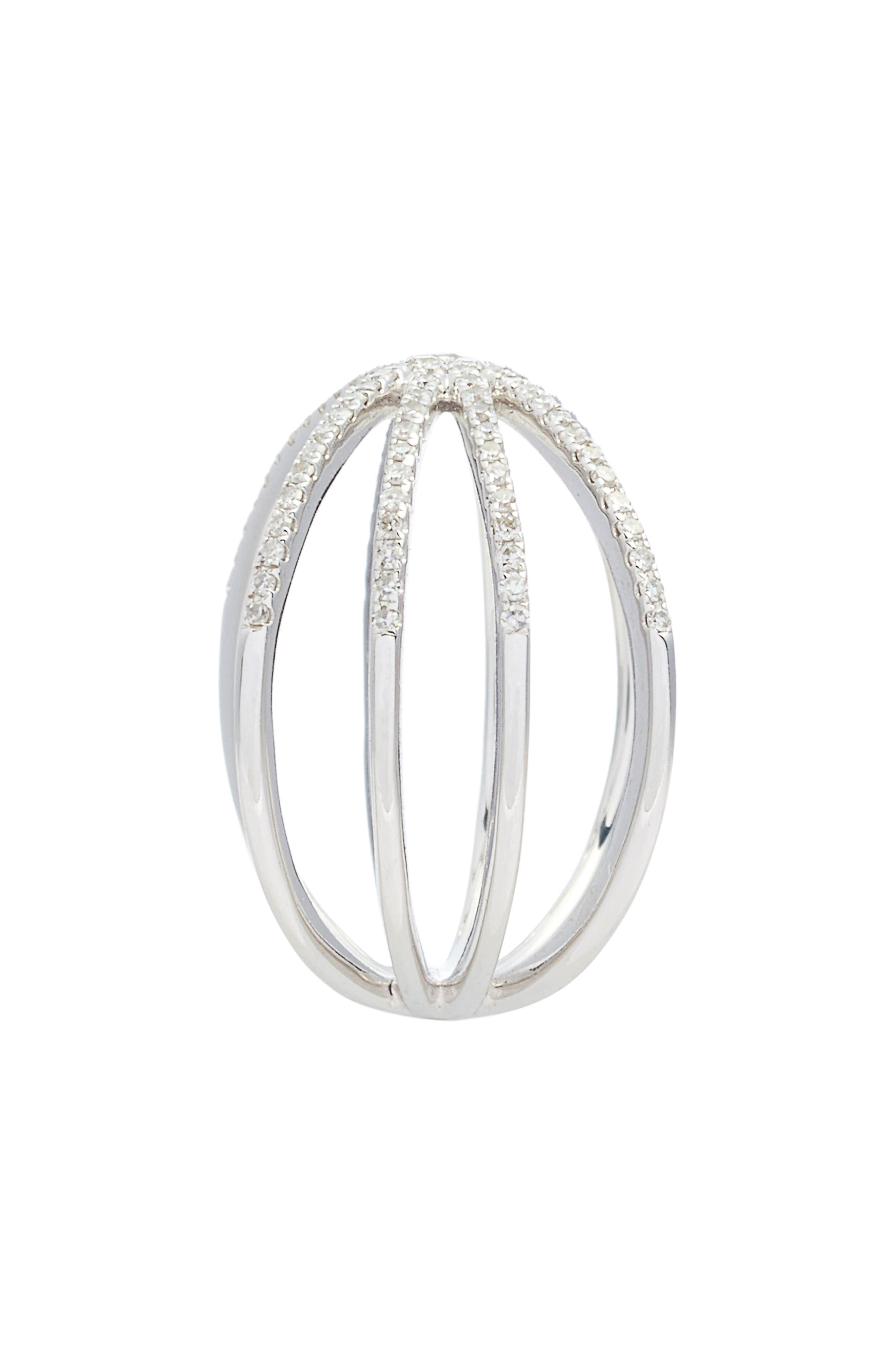 Sunburst Diamond Ring,                             Alternate thumbnail 2, color,                             711