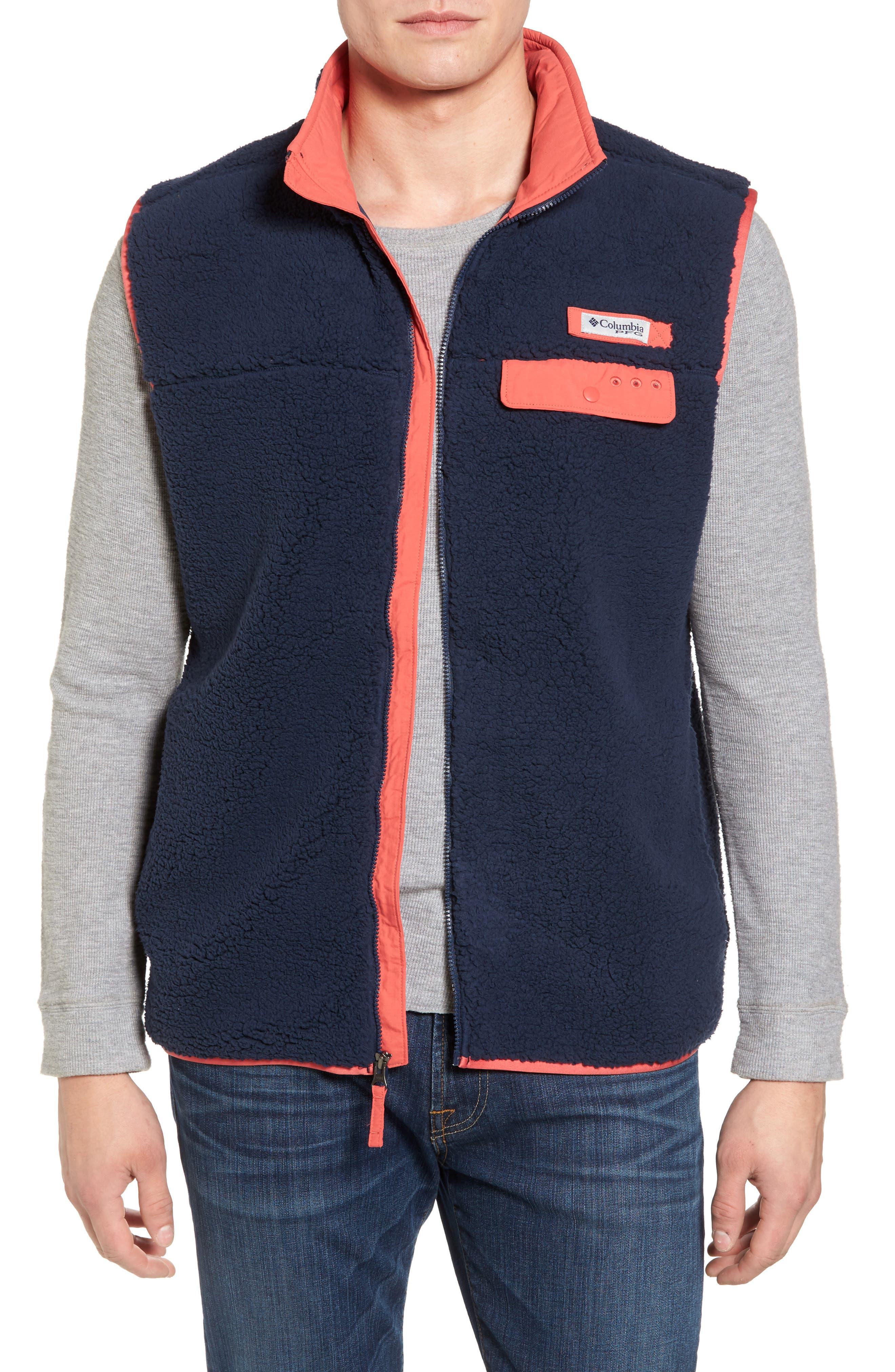 Sportswear Harborside Heavyweight Fleece Vest,                             Main thumbnail 3, color,