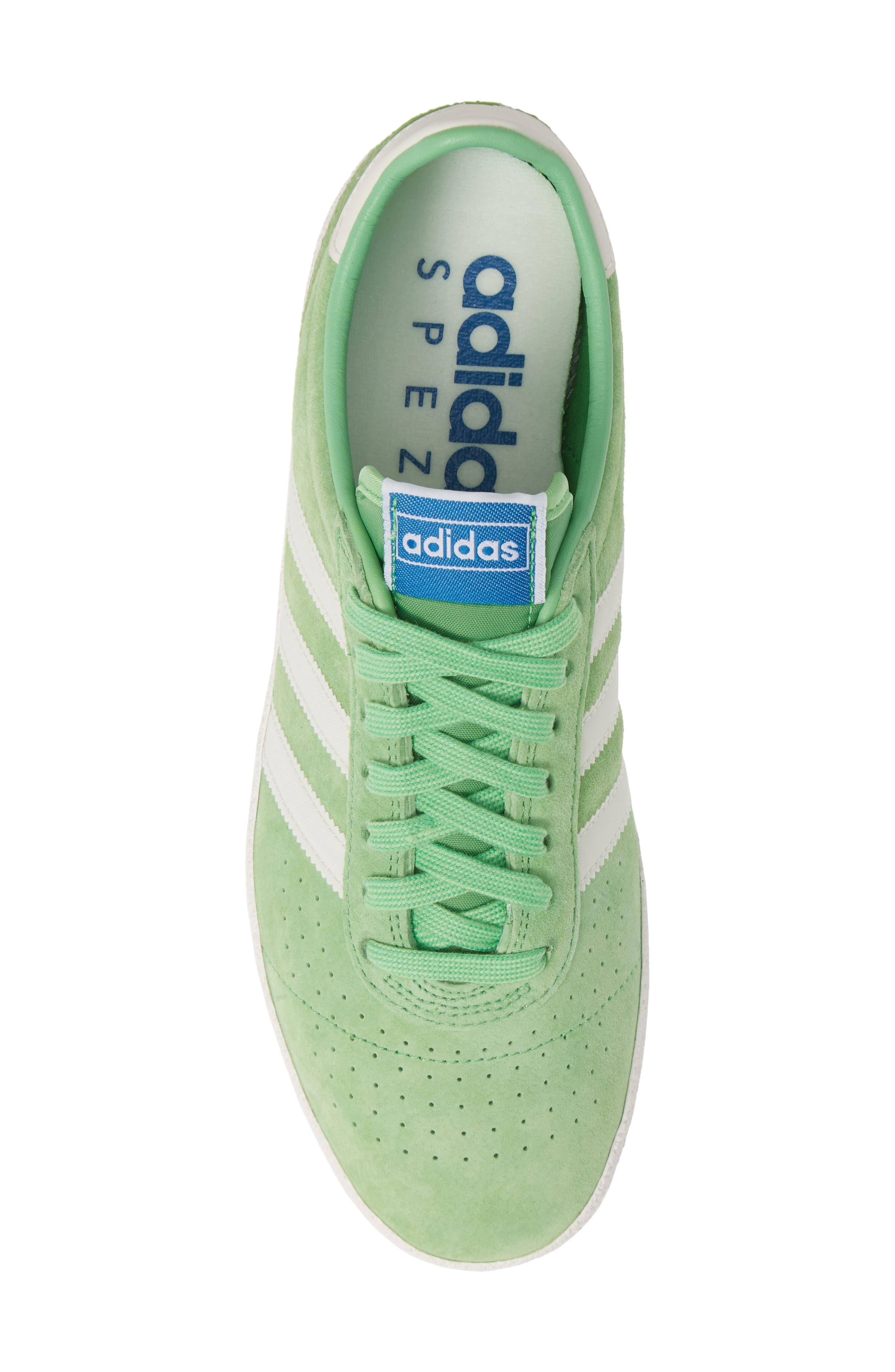 München Super Spezial Sneaker,                             Alternate thumbnail 5, color,                             INTENSE GREEN/ OFF WHITE