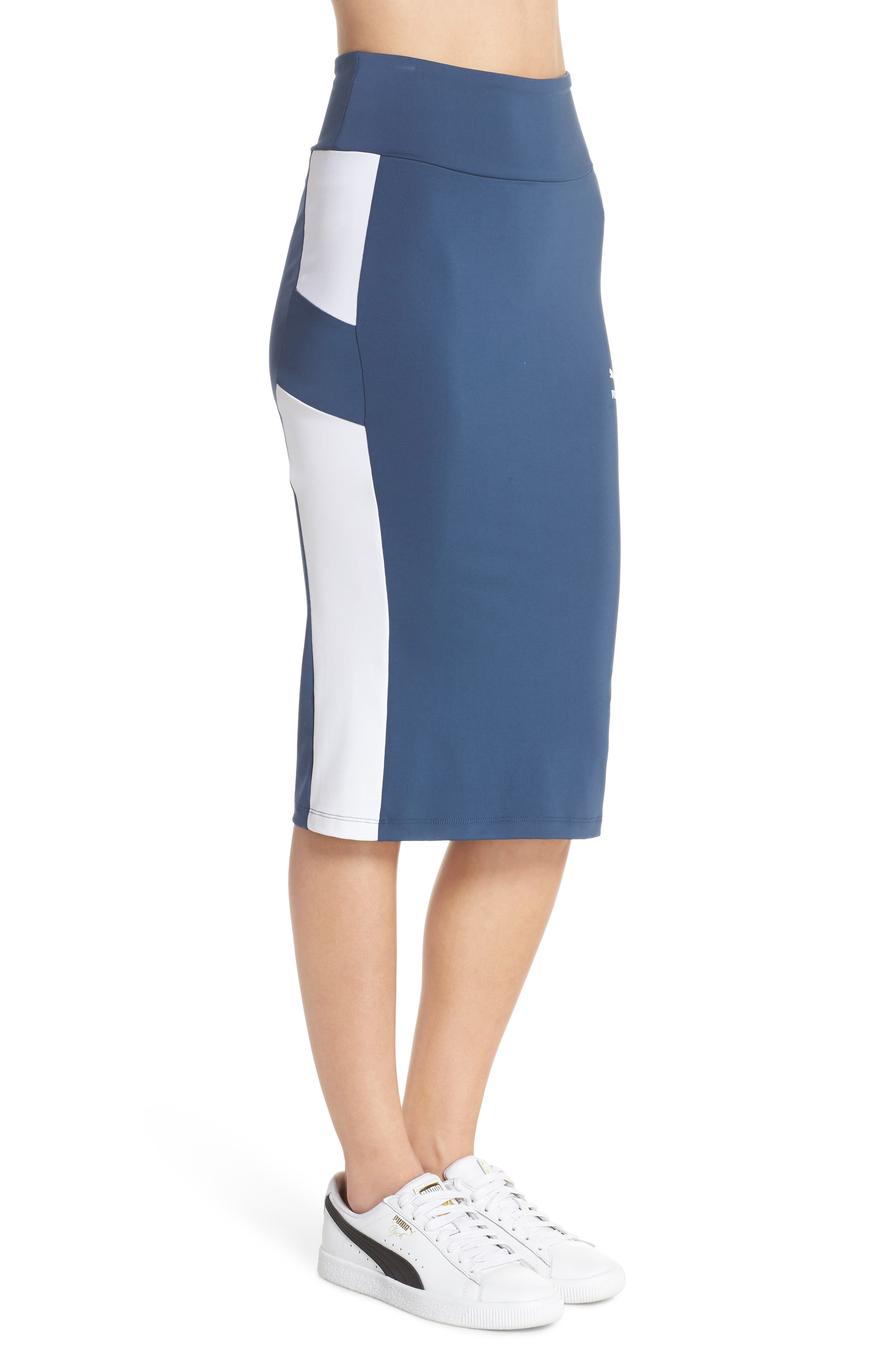 Archive Logo Pencil Skirt,                             Alternate thumbnail 3, color,                             403