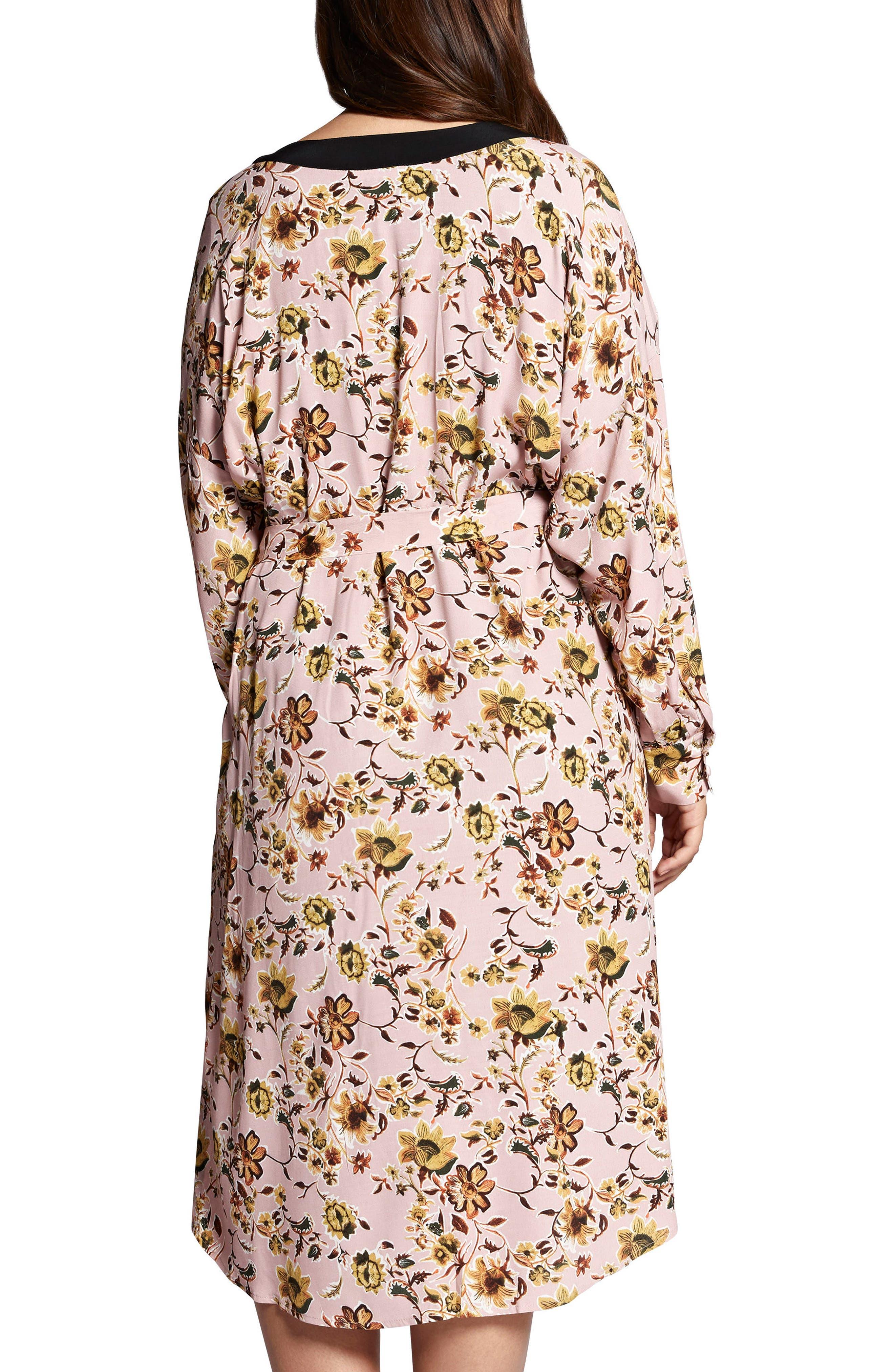 Calico Kimono,                             Alternate thumbnail 2, color,                             650