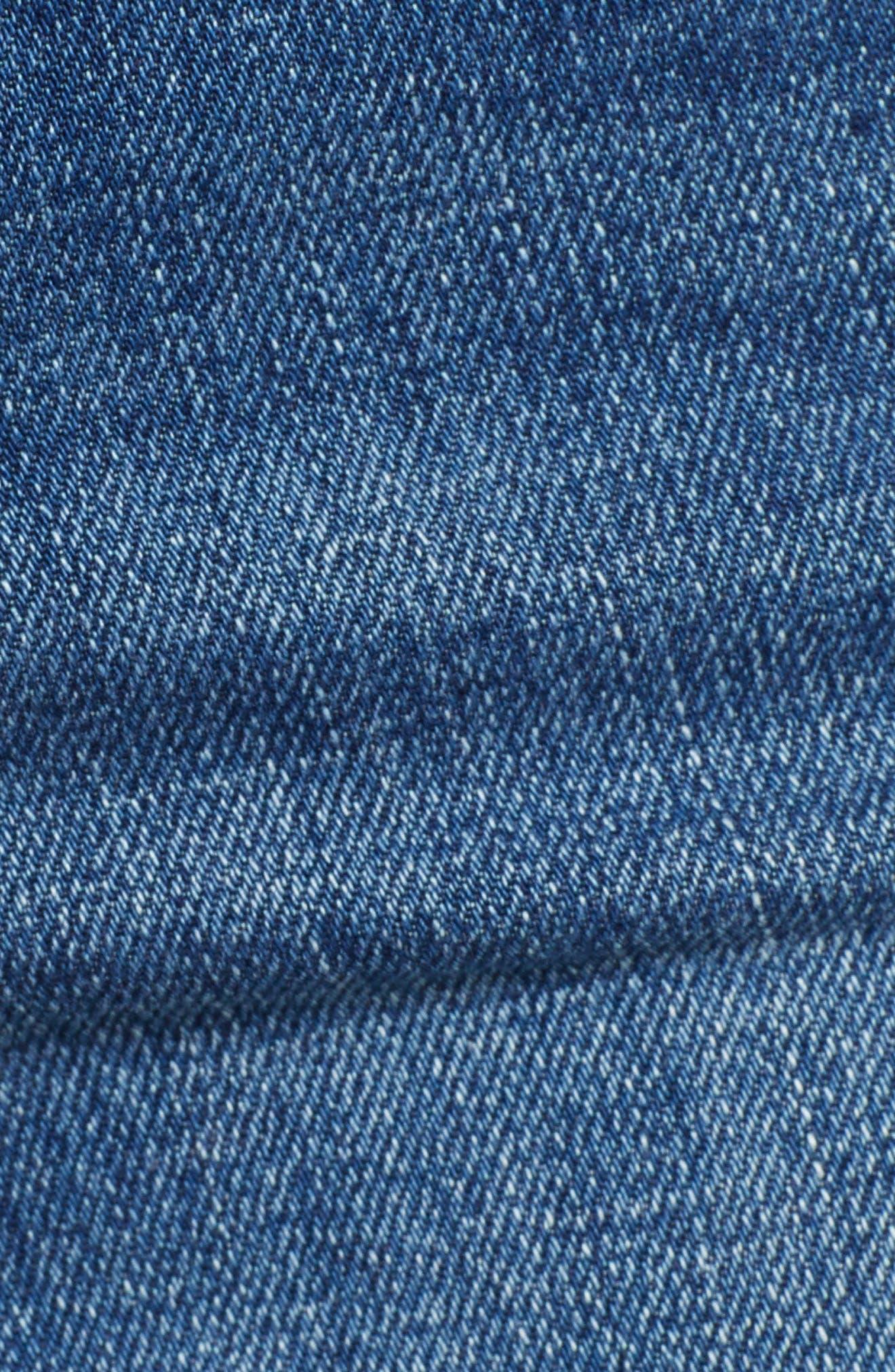 TJW Denim Shorts,                             Alternate thumbnail 6, color,                             400