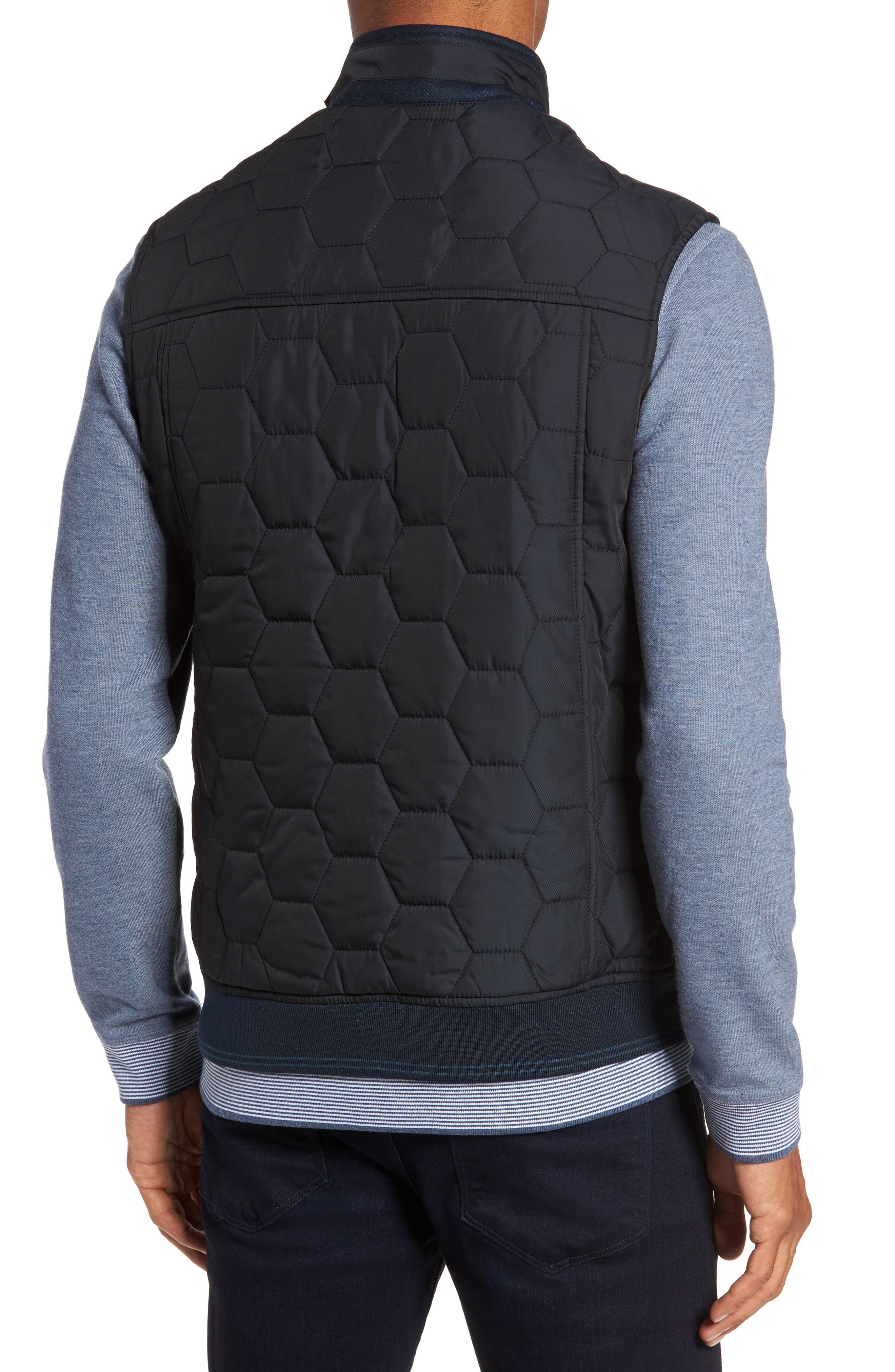 Ferny Quilted Vest,                             Alternate thumbnail 2, color,