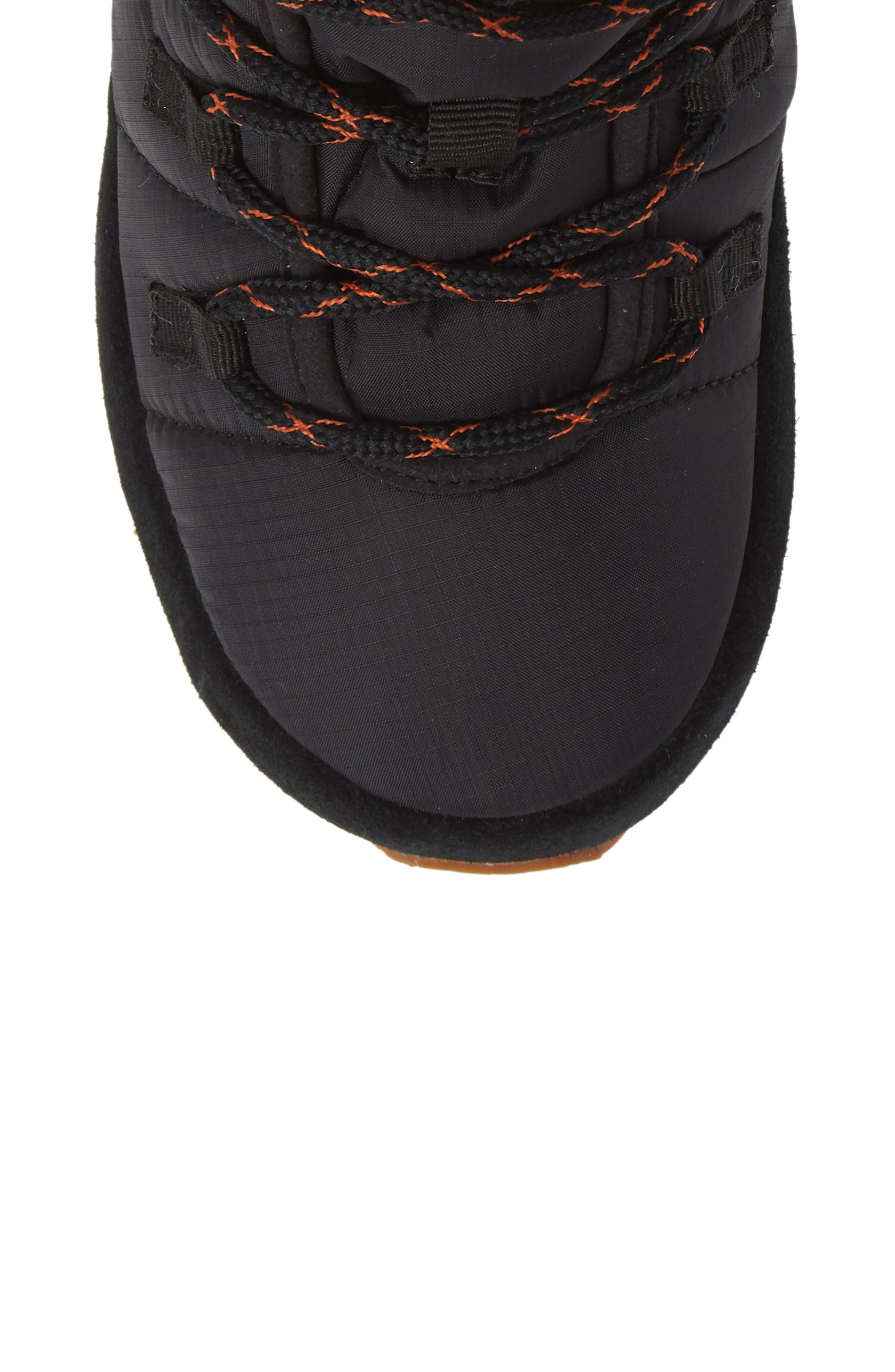TEVA,                             Ember Lace-Up Winter Bootie,                             Alternate thumbnail 5, color,                             BLACK FABRIC