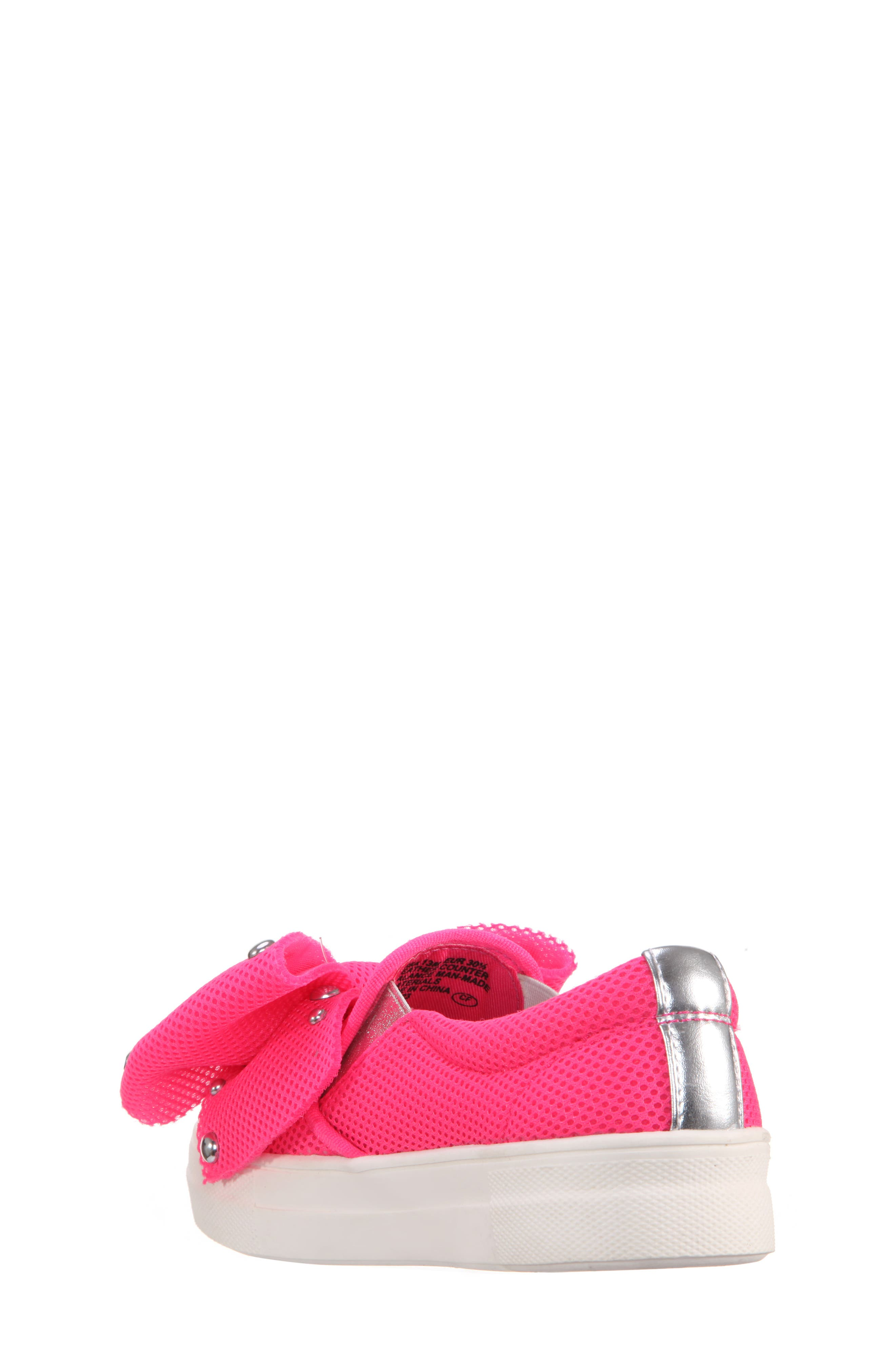 Mary Bow Slip-On Sneaker,                             Alternate thumbnail 5, color,