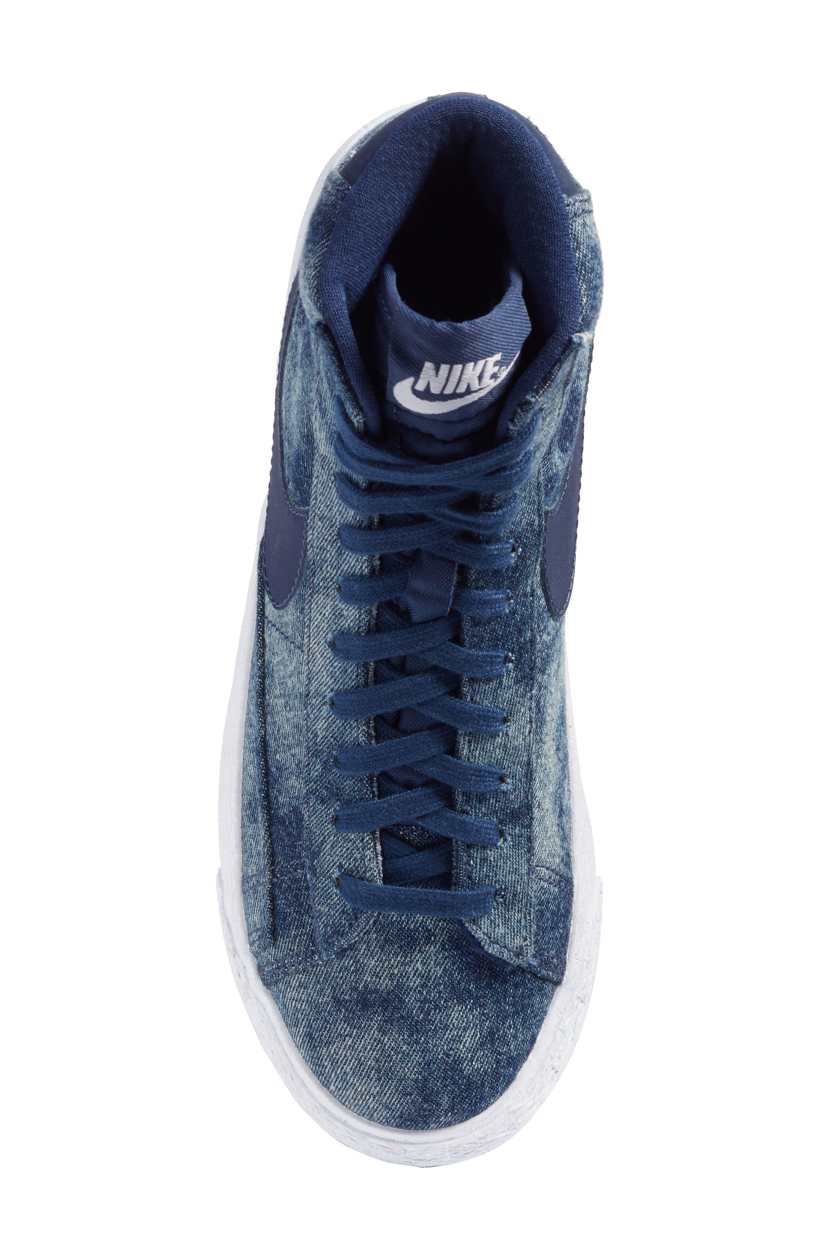 Blazer Mid SE High Top Sneaker,                             Alternate thumbnail 15, color,