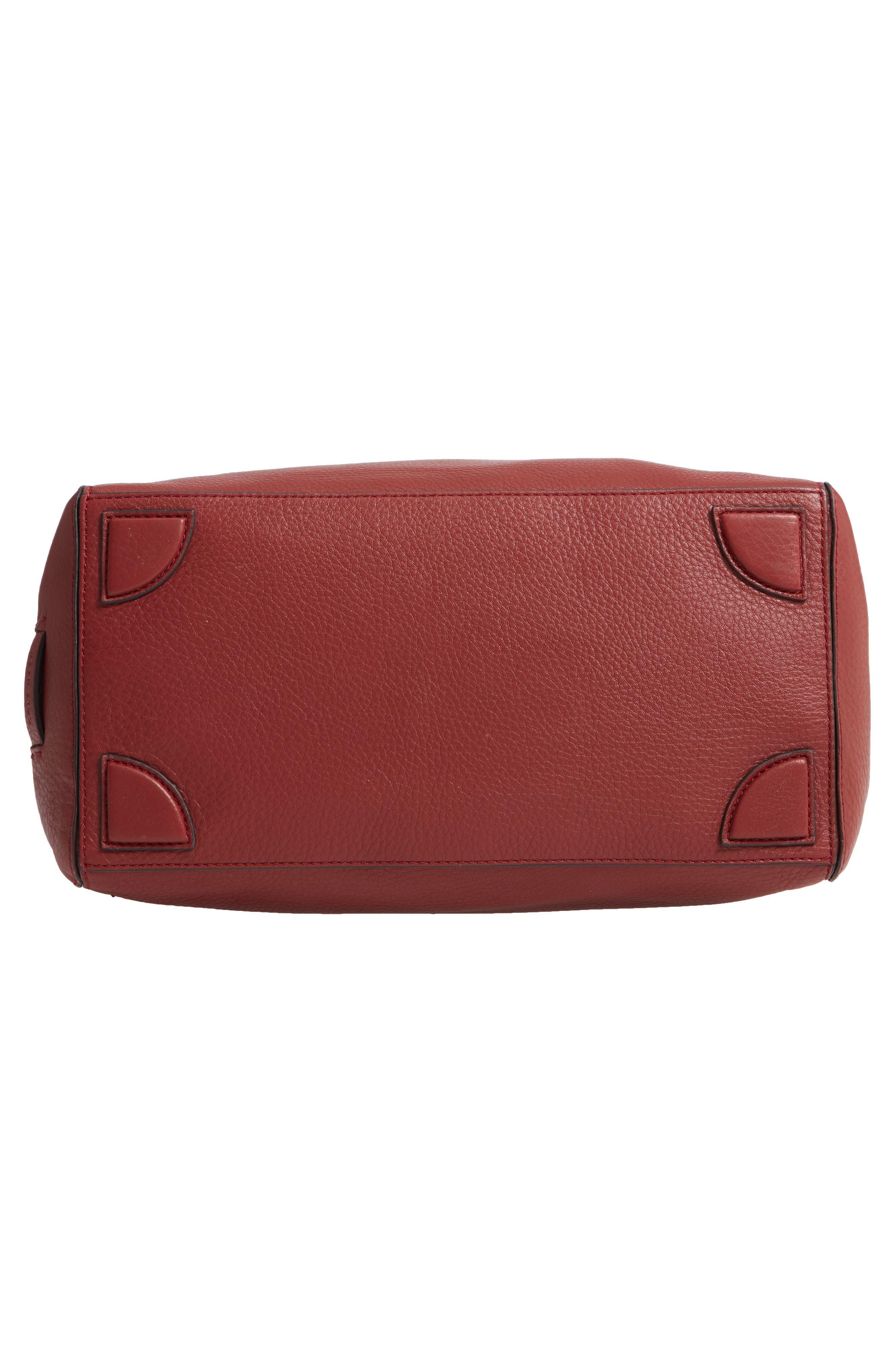 Cassidy RFID Pebbled Leather Bucket Bag,                             Alternate thumbnail 22, color,