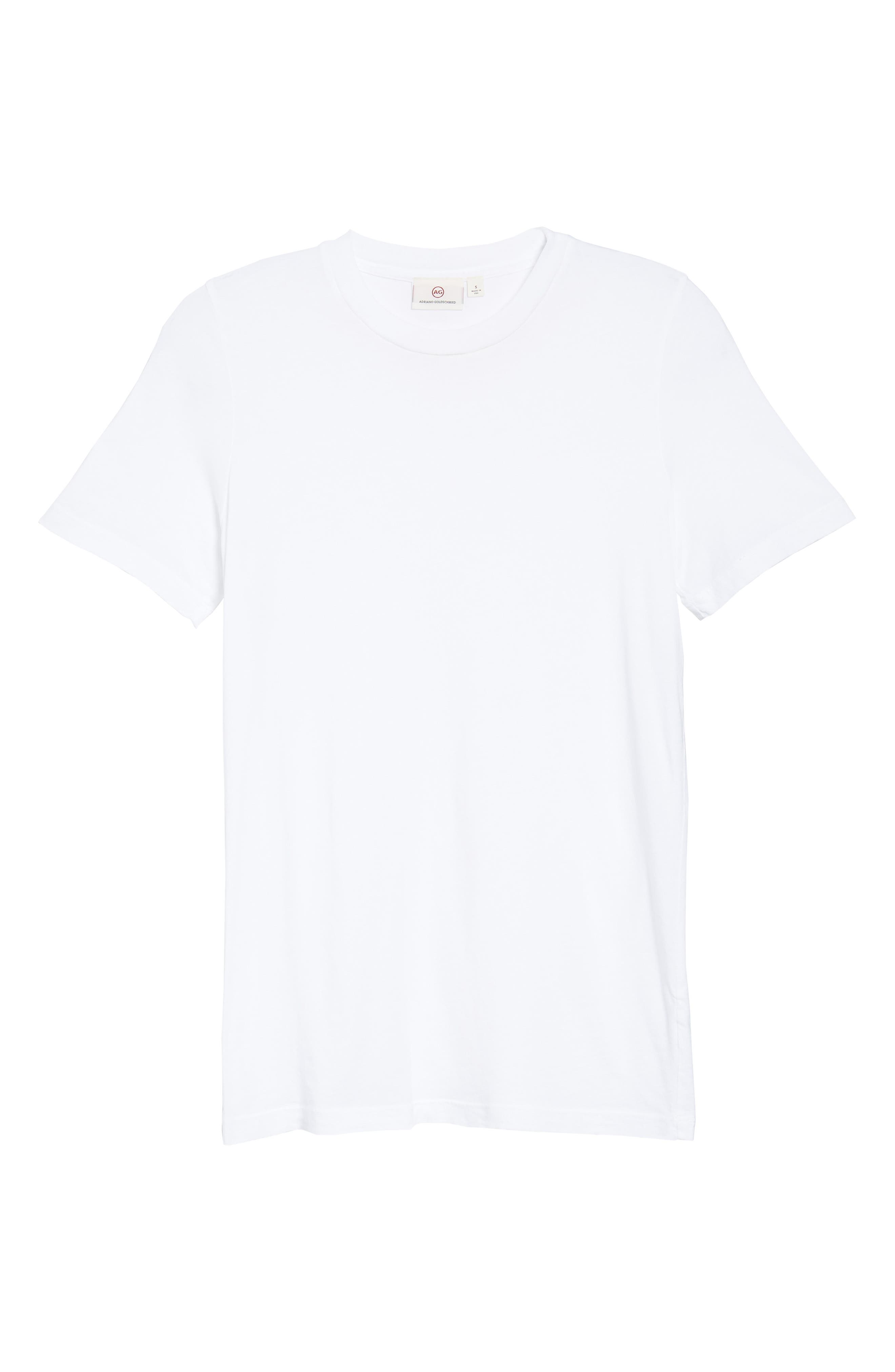 Crewneck Tee,                             Alternate thumbnail 7, color,                             TRUE WHITE