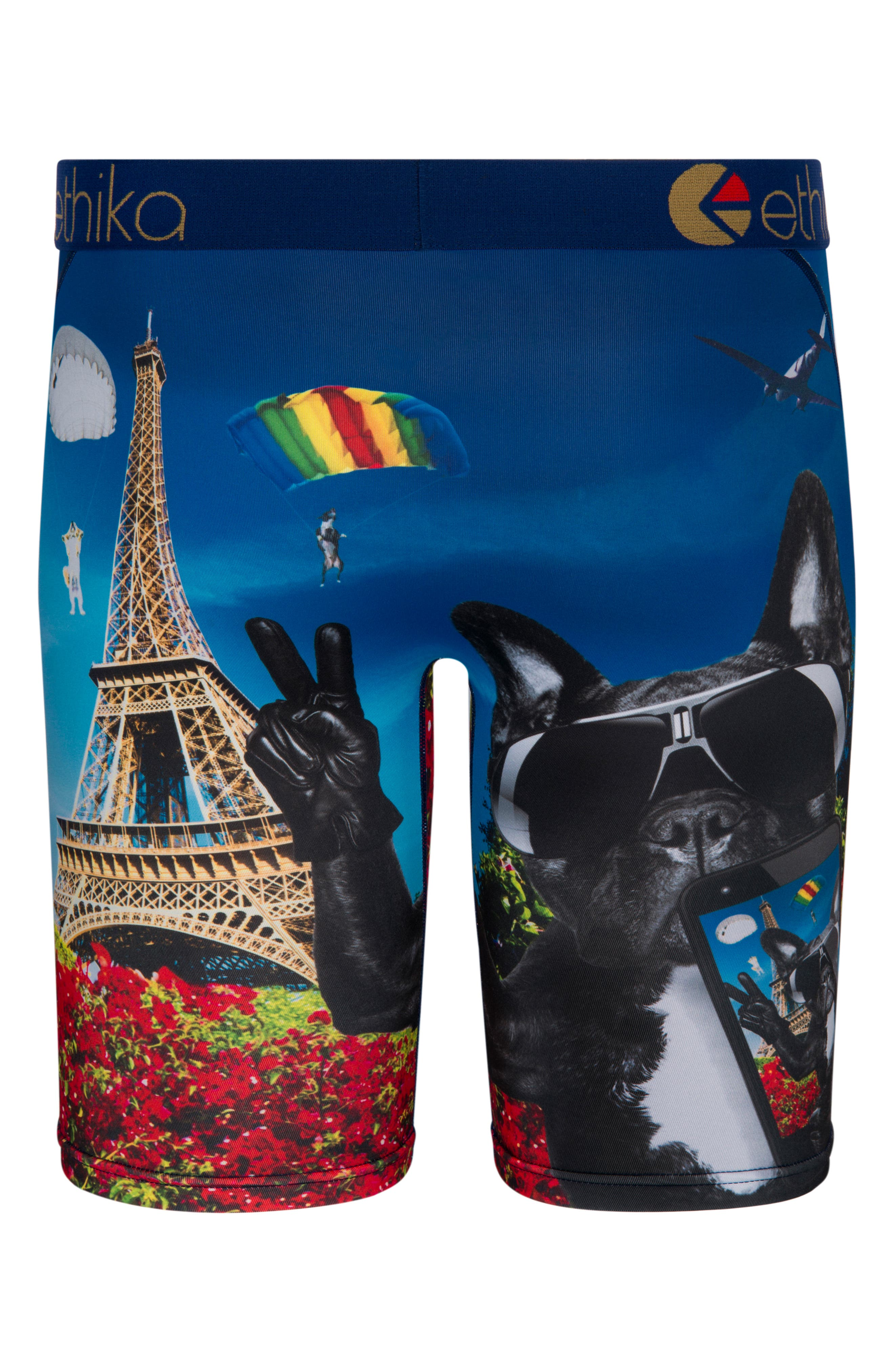 French Selfie Stretch Boxer Briefs,                             Alternate thumbnail 2, color,                             400