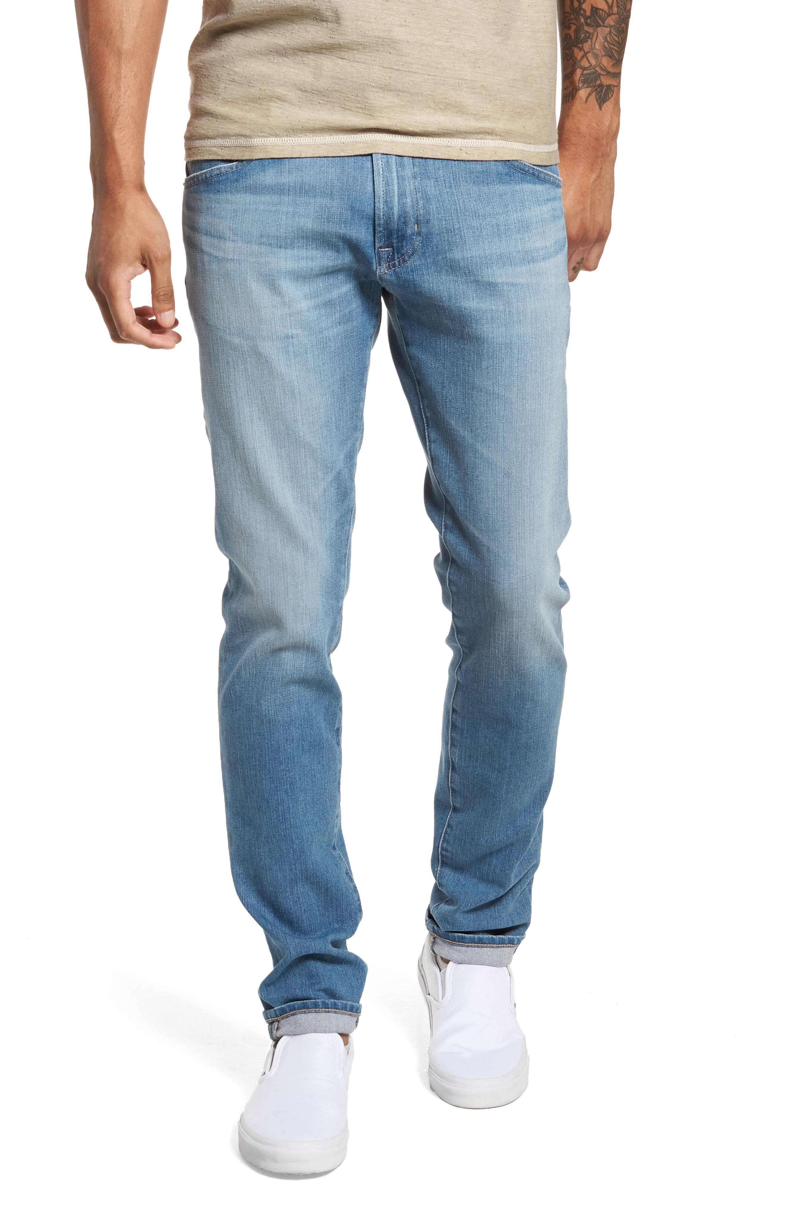 Dylan Skinny Fit Jeans,                             Main thumbnail 1, color,                             498