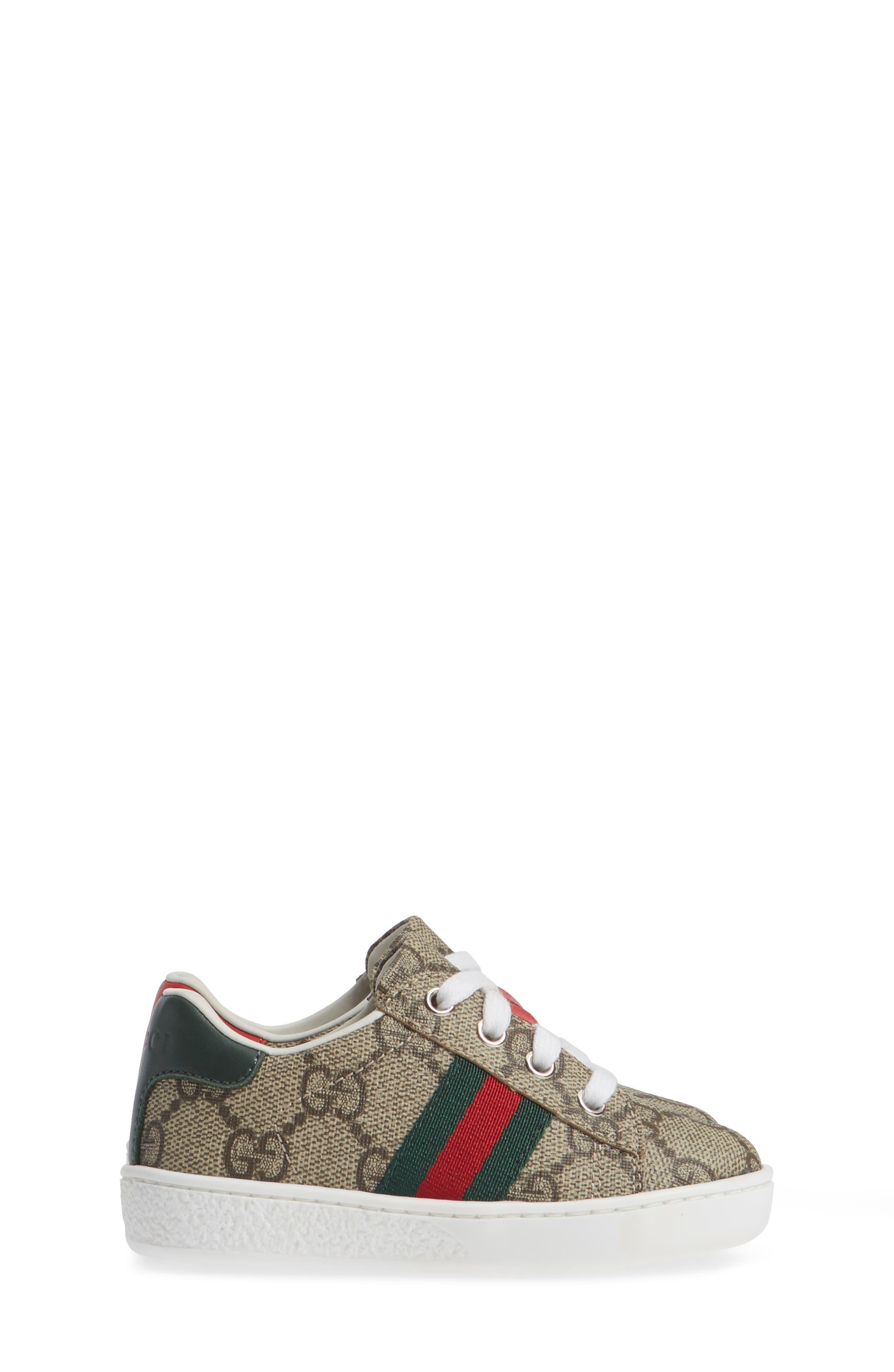 New Ace Sneaker,                             Alternate thumbnail 4, color,                             BEIGE