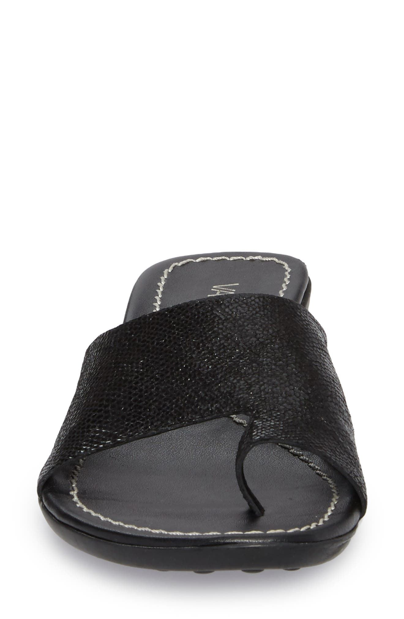 'Tallis' Snake Embossed Leather Slide Sandal,                             Alternate thumbnail 20, color,