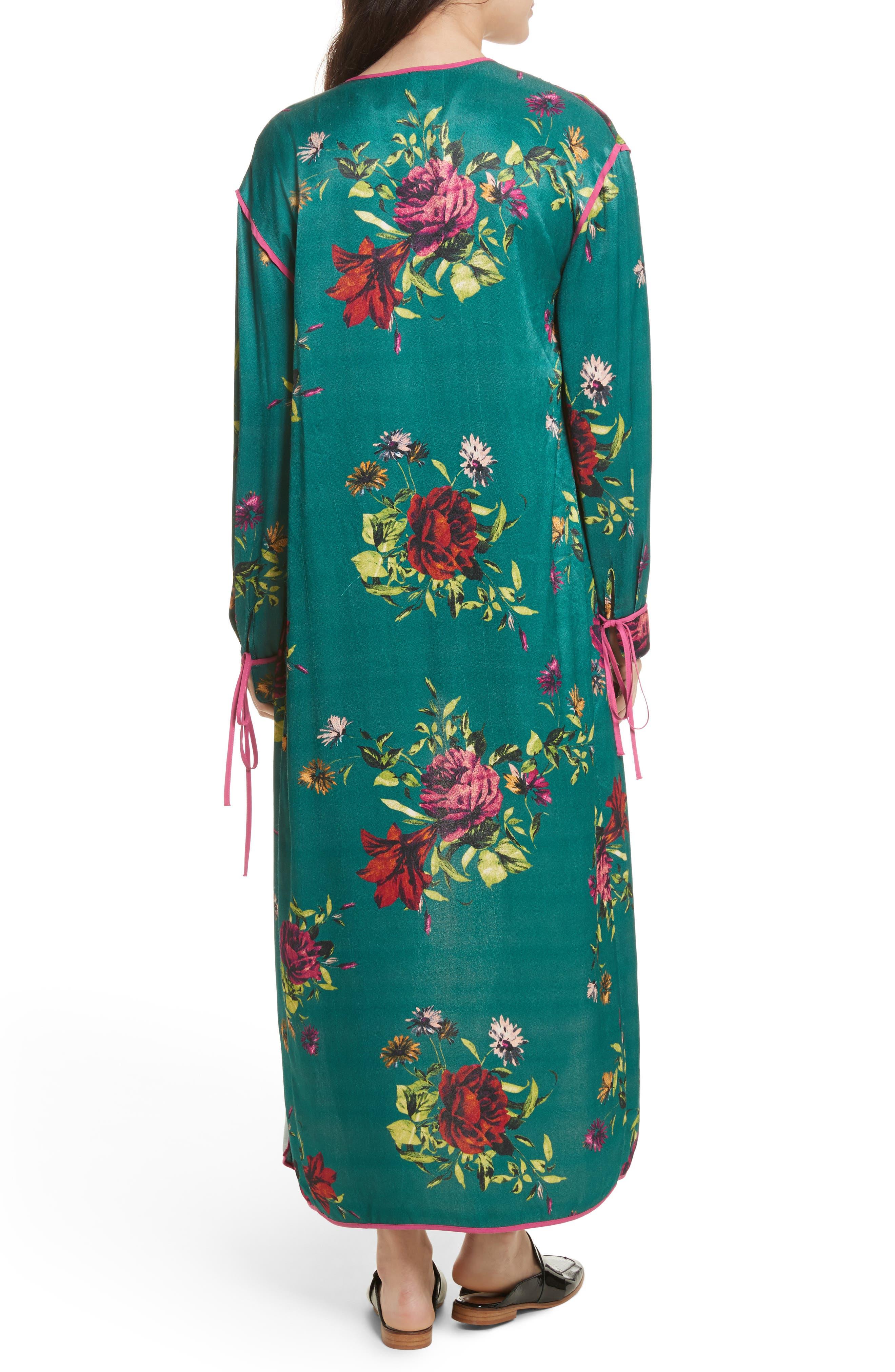 Kimono Duster,                             Alternate thumbnail 2, color,
