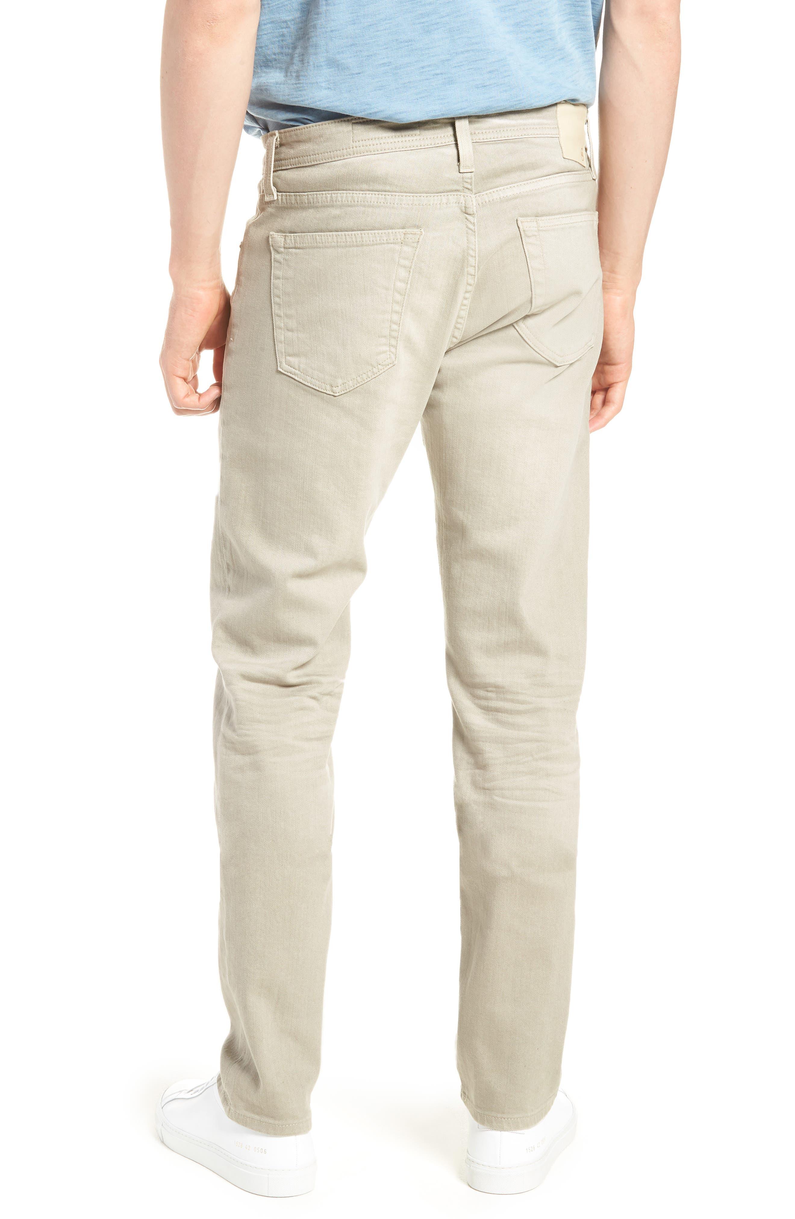 Tellis Slim Leg Twill Pants,                             Alternate thumbnail 2, color,                             268
