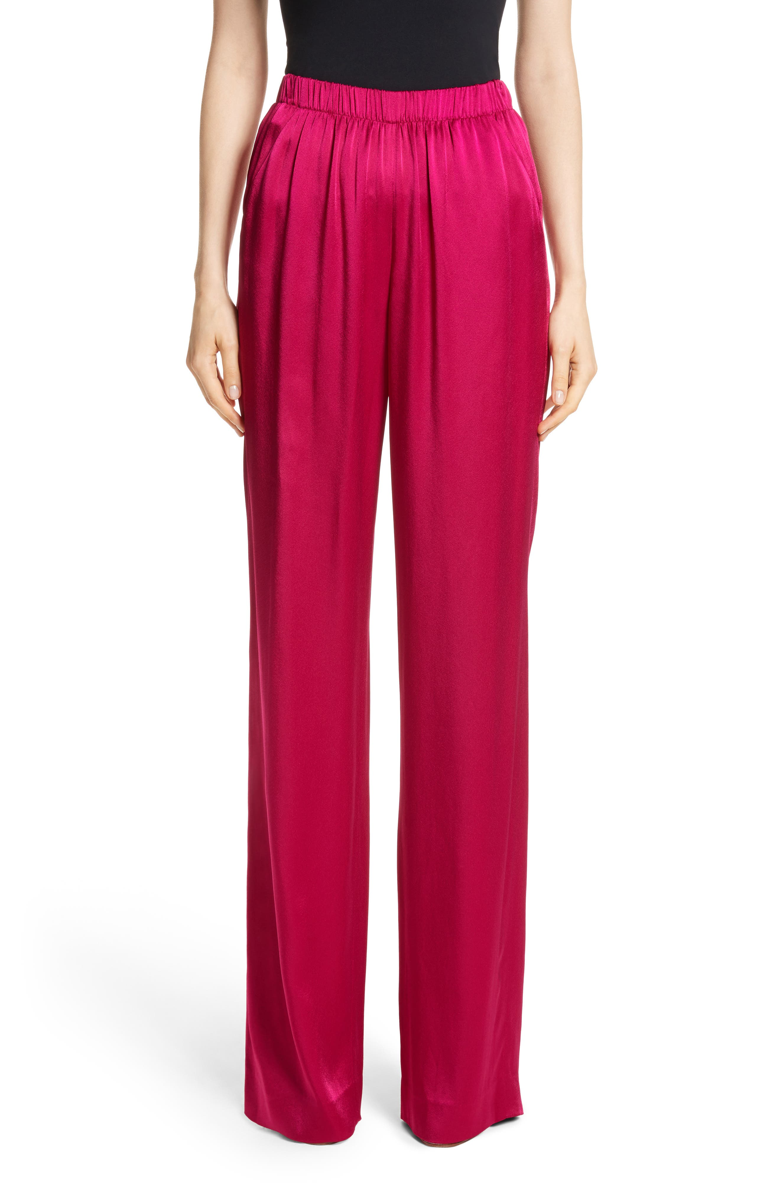 Liquid Crepe Pants,                         Main,                         color, 600