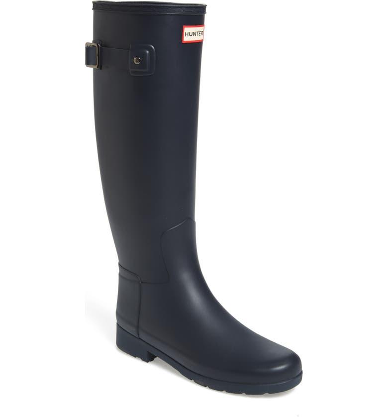 Looking for Hunter Original Refined Waterproof Rain Boot (Women) (Regular & Narrow Calf) Order and Review