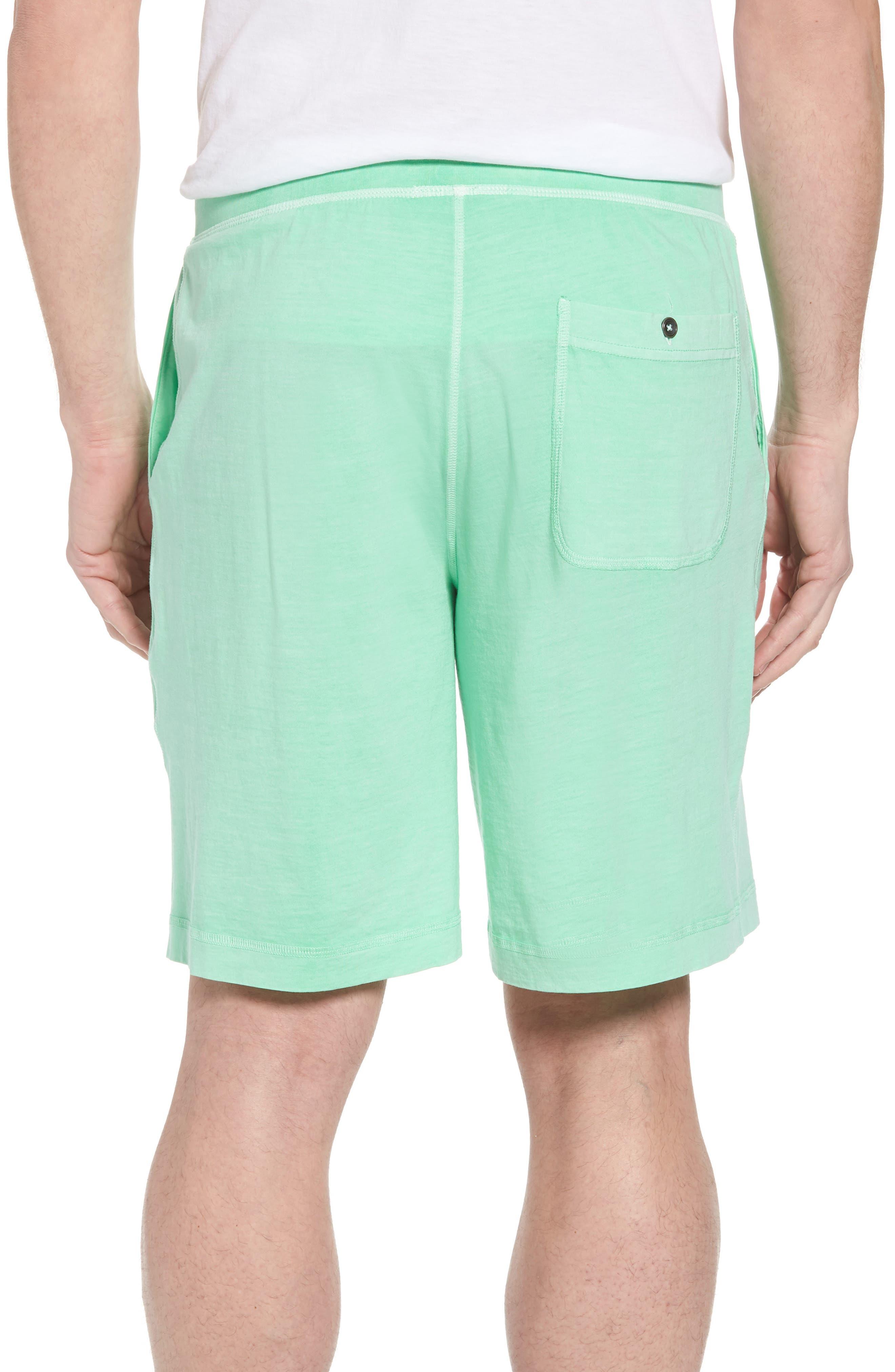 Peruvian Pima Cotton Lounge Shorts,                             Alternate thumbnail 2, color,                             LIME