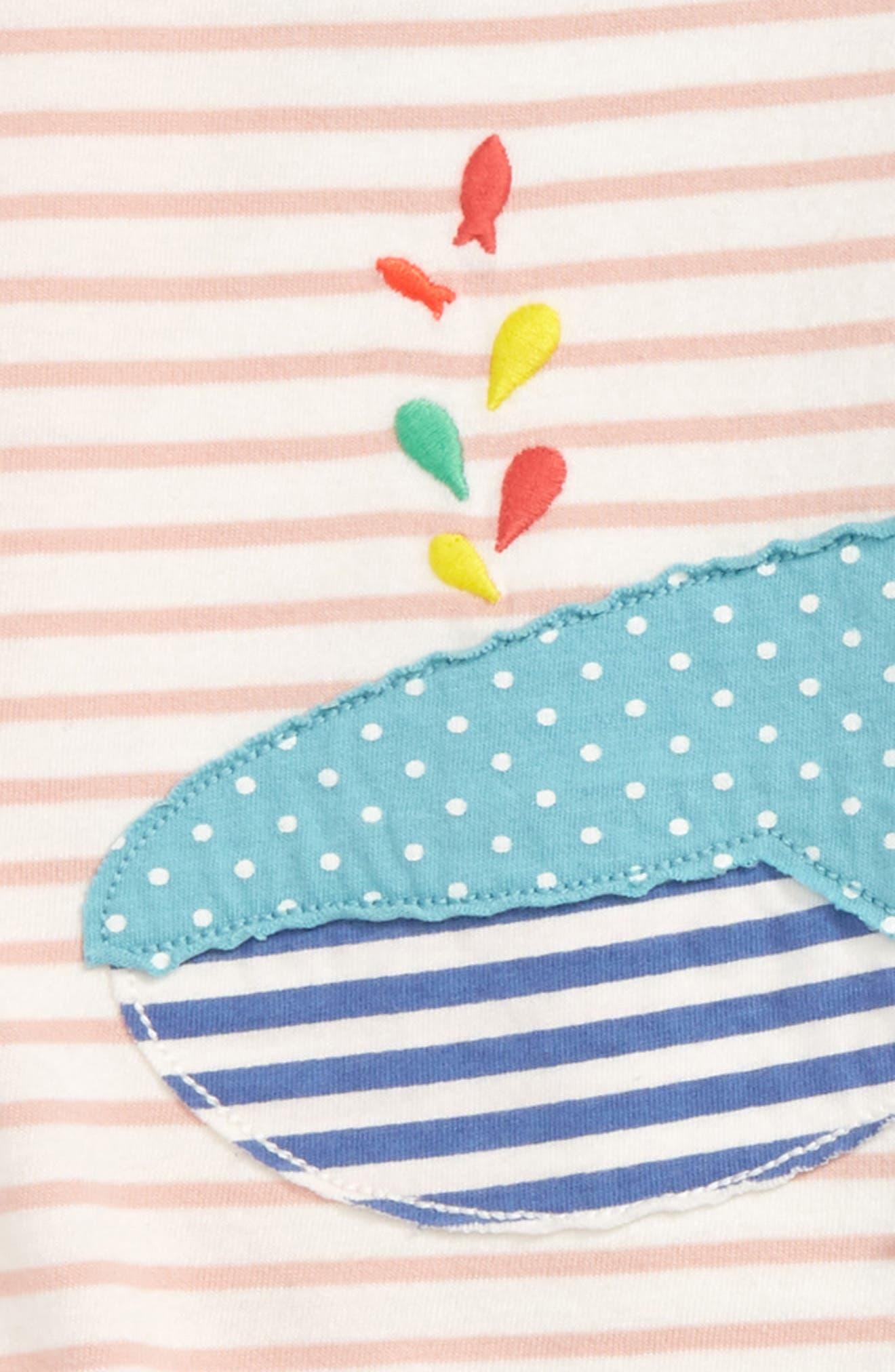 Appliqué T-Shirt Dress & Leggings Set,                             Alternate thumbnail 3, color,                             684