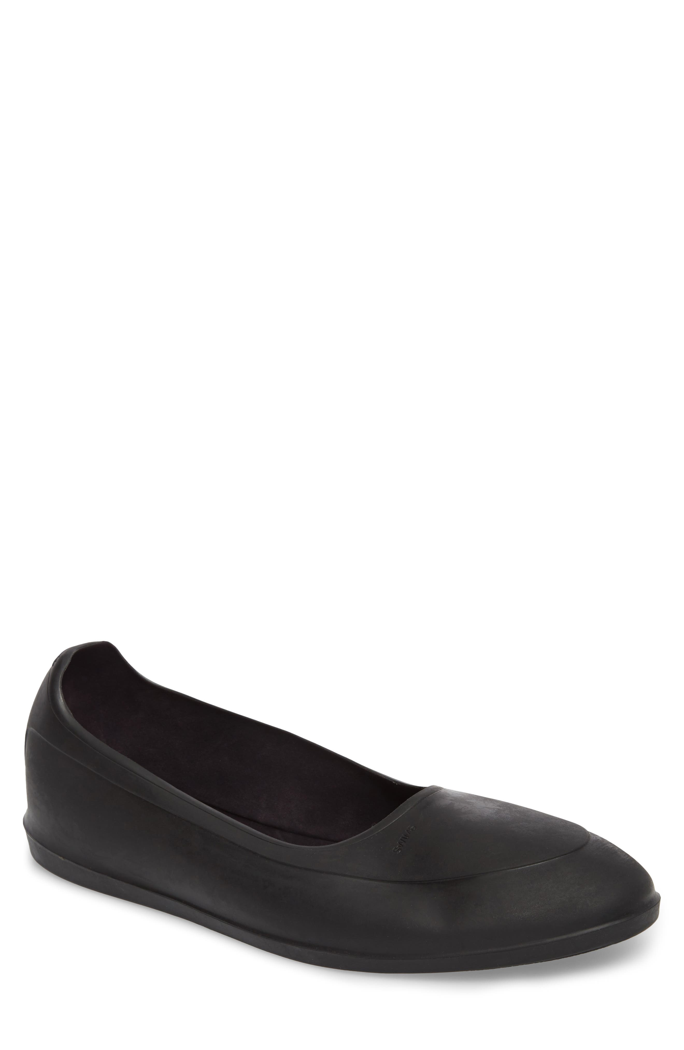 Classic Galosh Slip-On,                             Main thumbnail 1, color,                             BLACK TPU AND SYNTHETIC