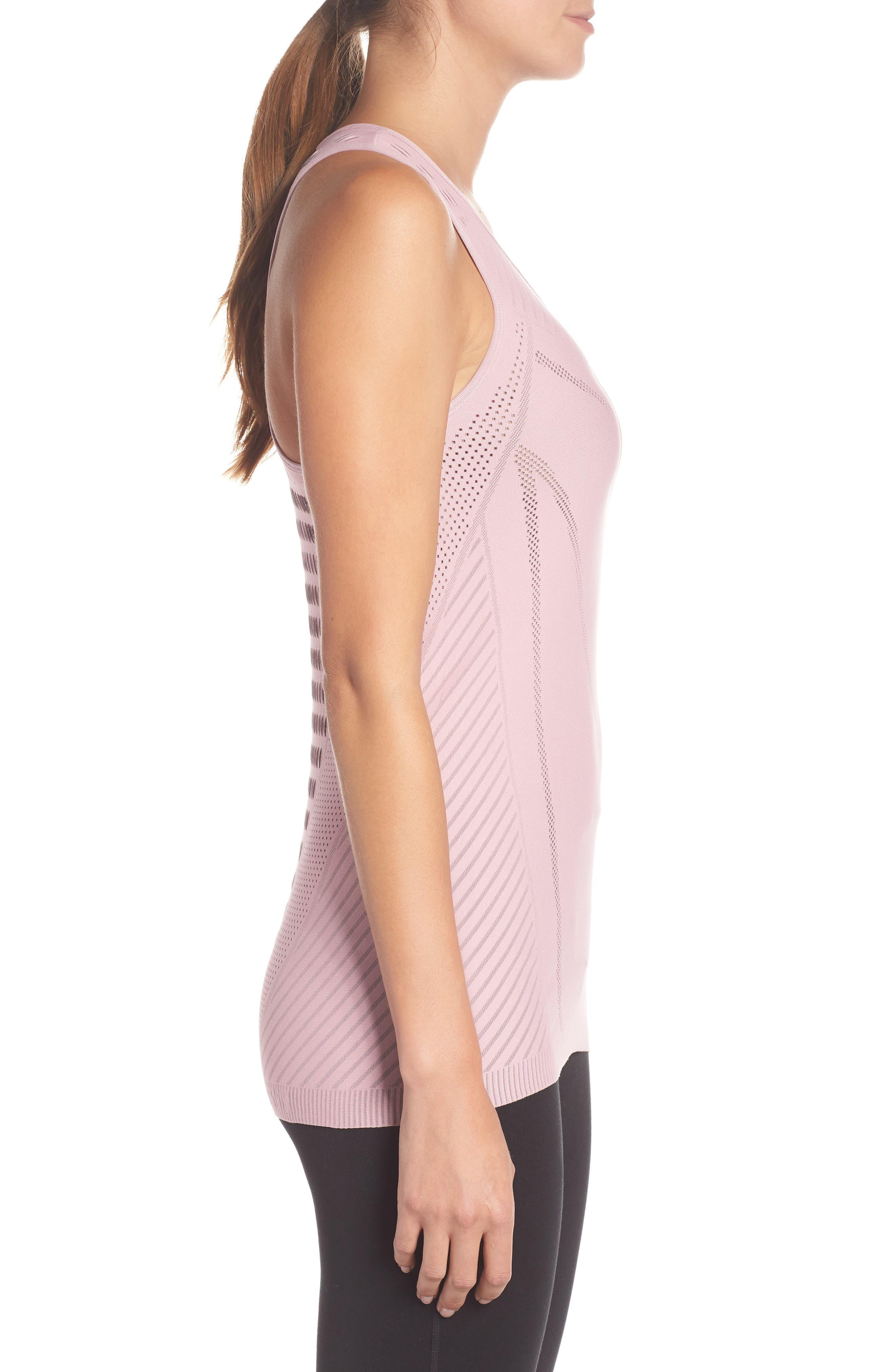 Luxe Yoga Vest,                             Alternate thumbnail 3, color,                             650