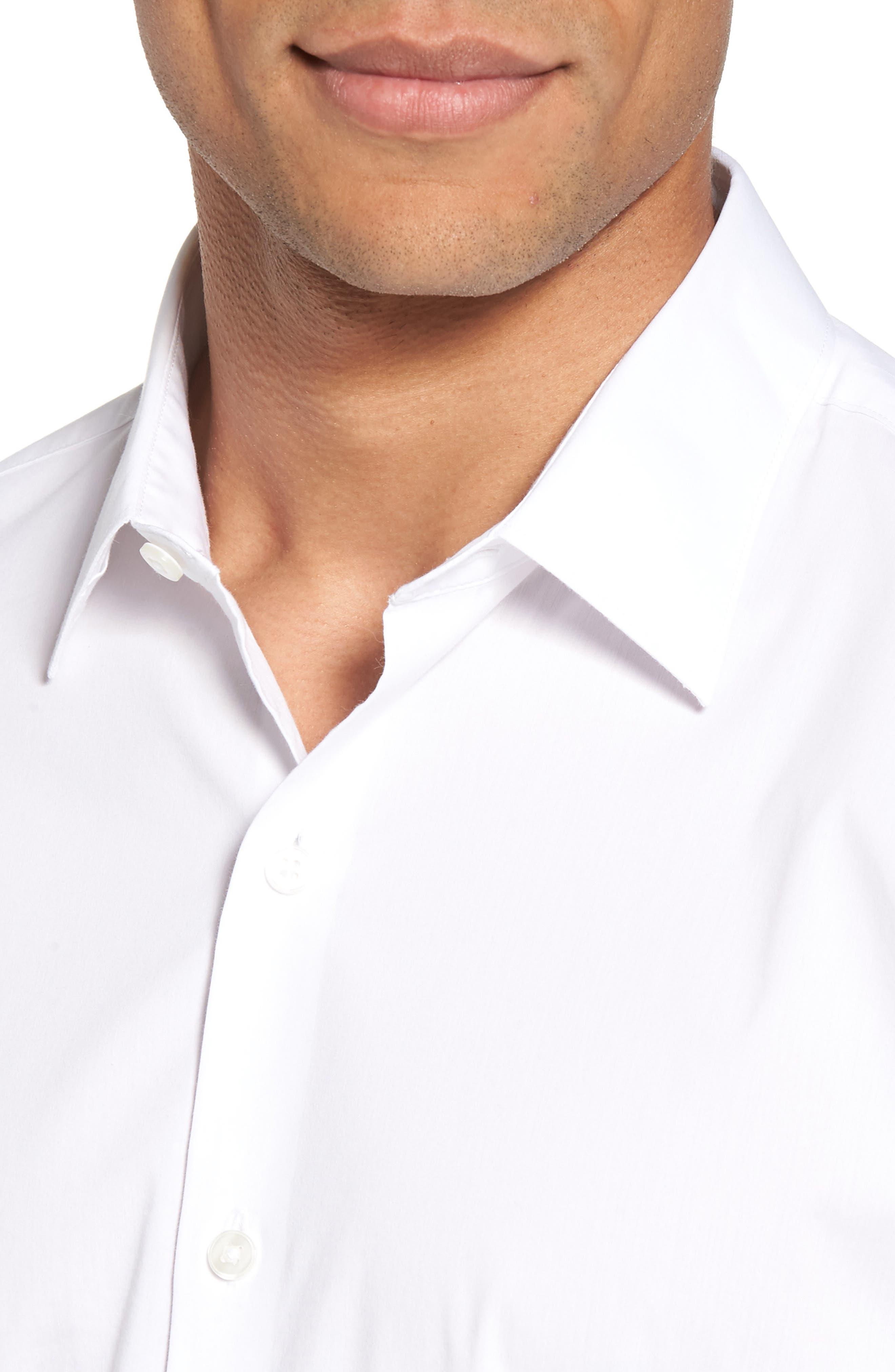 Unbutton Down 2.0 Slim Fit Sport Shirt,                             Alternate thumbnail 14, color,