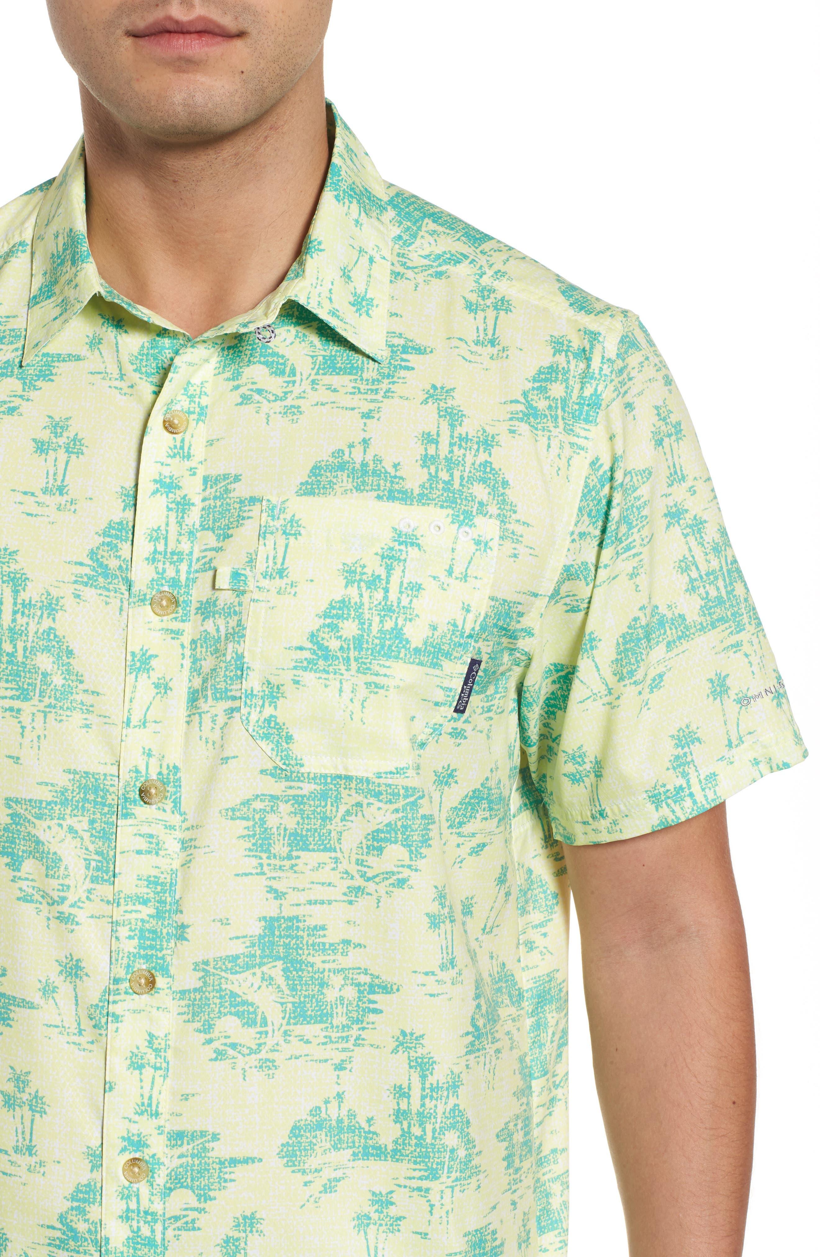 Super Slack Tide Patterned Woven Shirt,                             Alternate thumbnail 17, color,