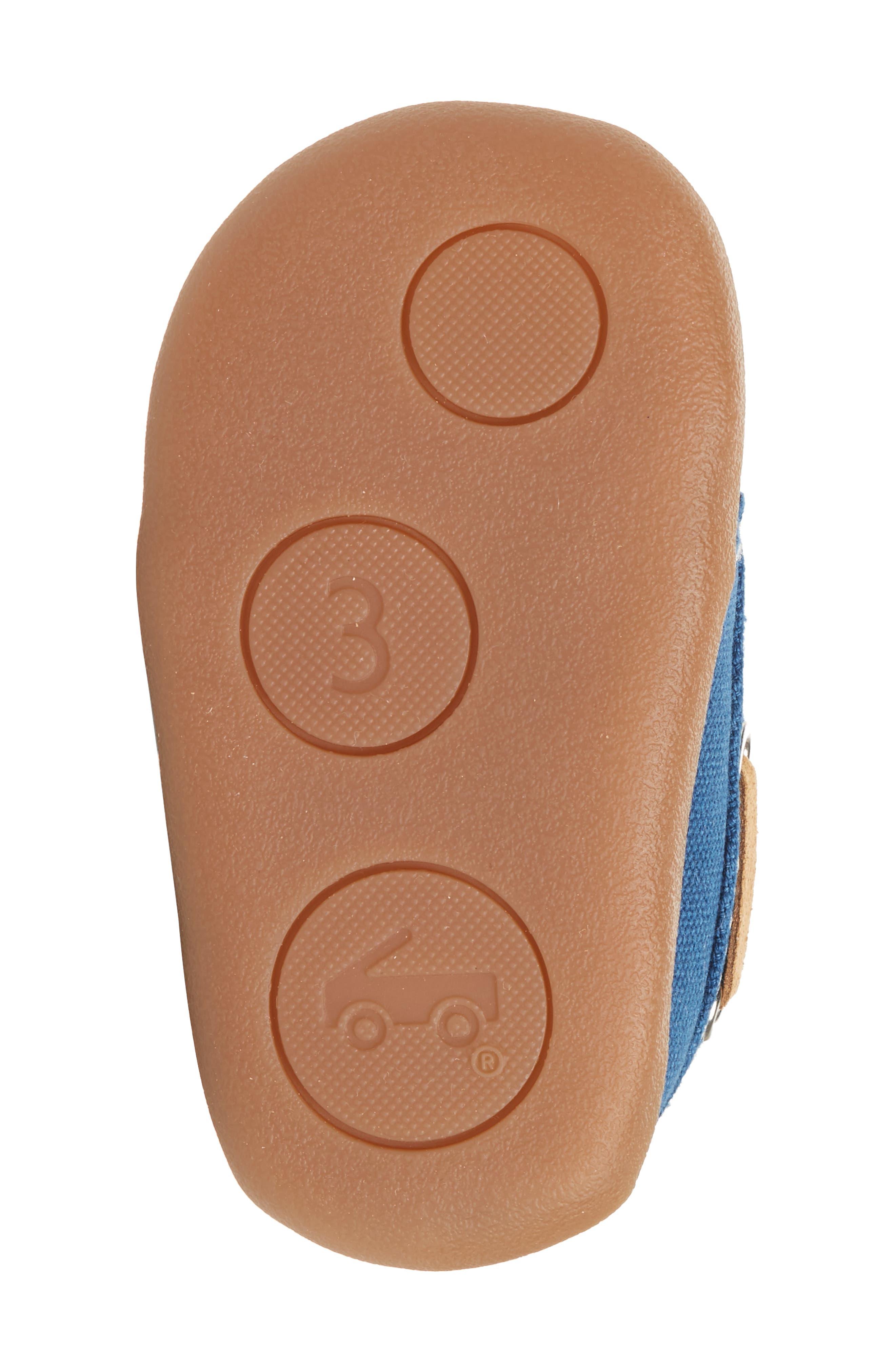 Arthur Sneaker,                             Alternate thumbnail 6, color,                             BLUE CANVAS