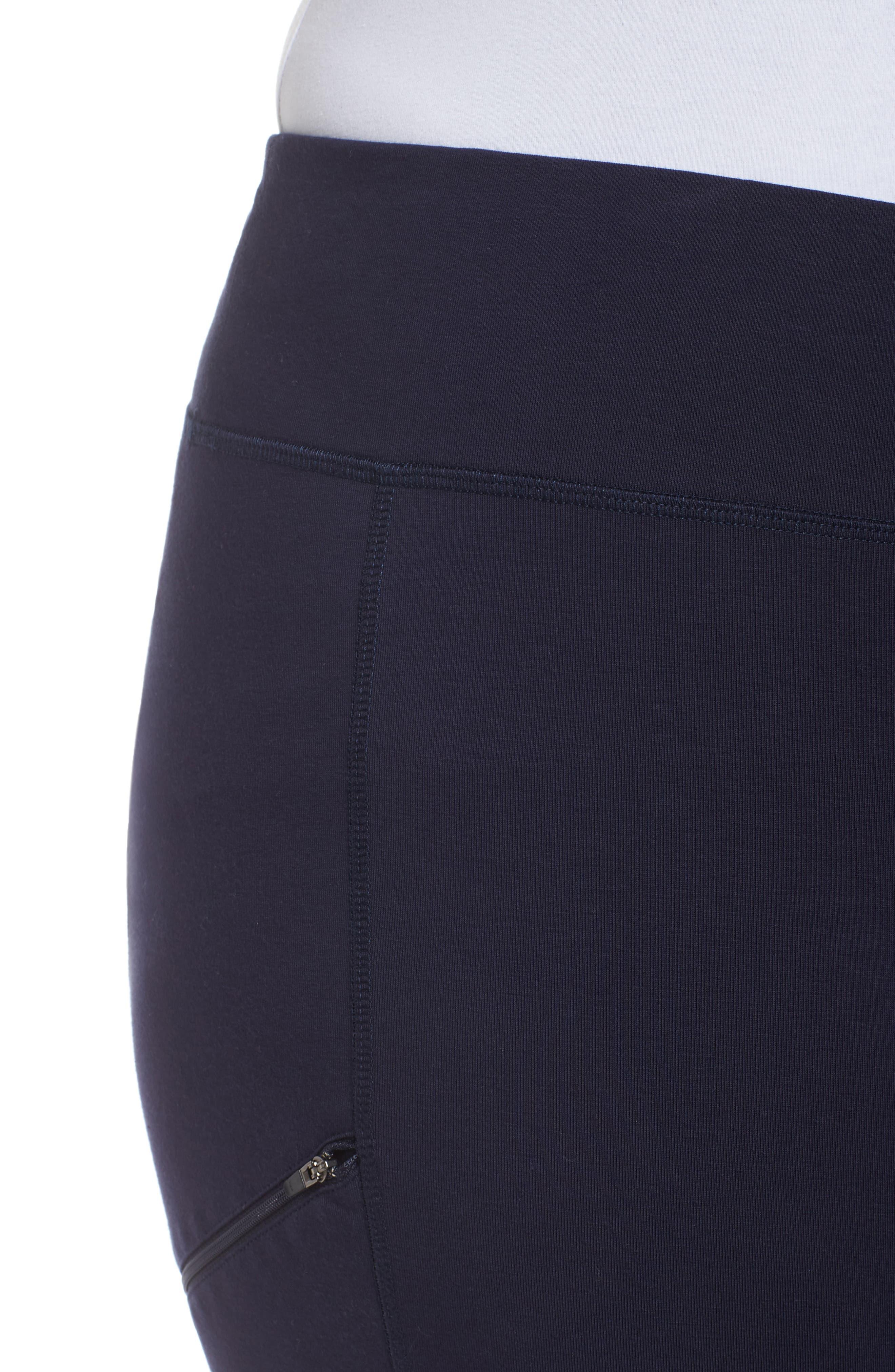 Skinny Knit Pants,                             Alternate thumbnail 4, color,                             419