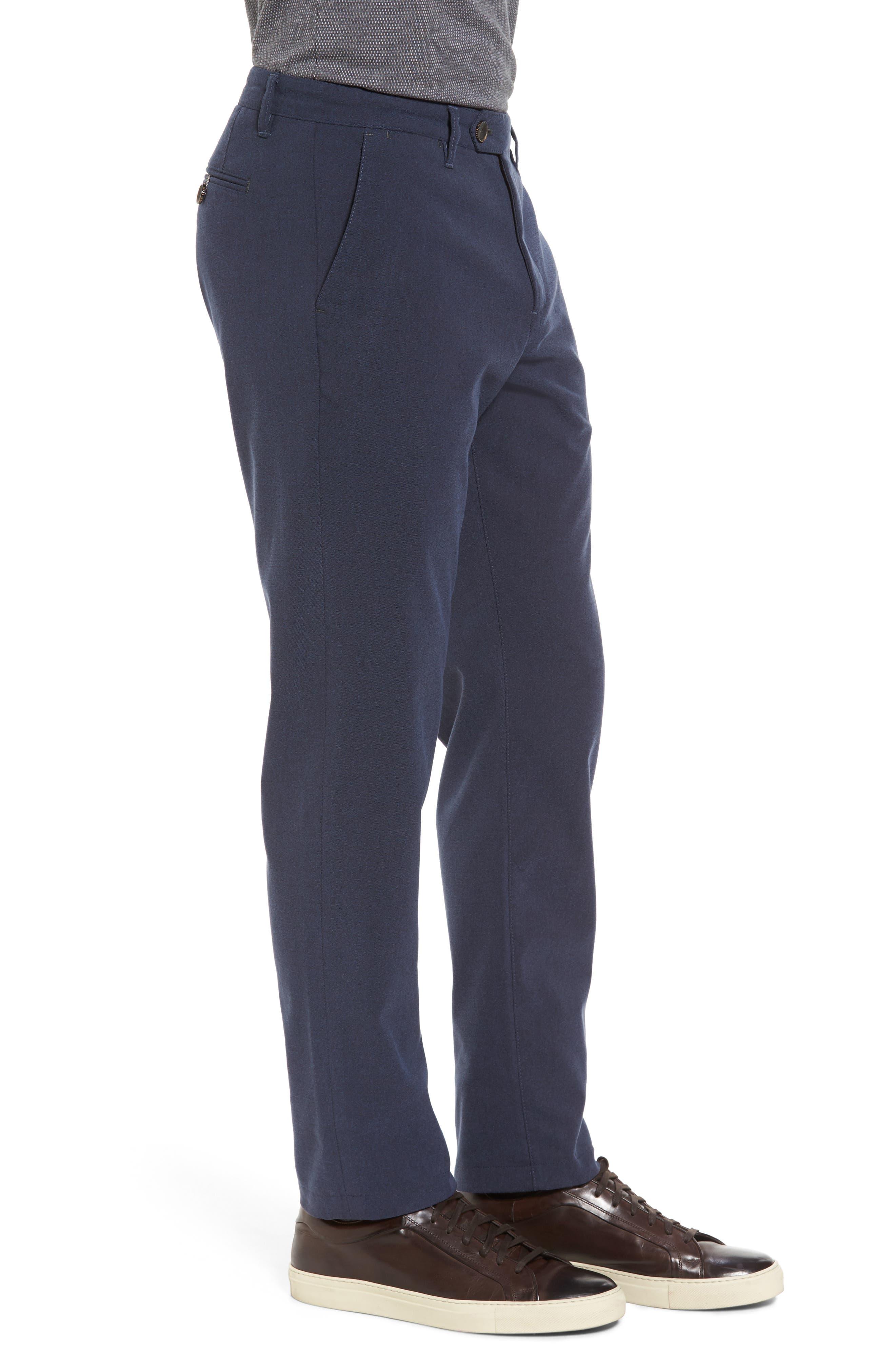 Modern Slim Fit Trousers,                             Alternate thumbnail 9, color,