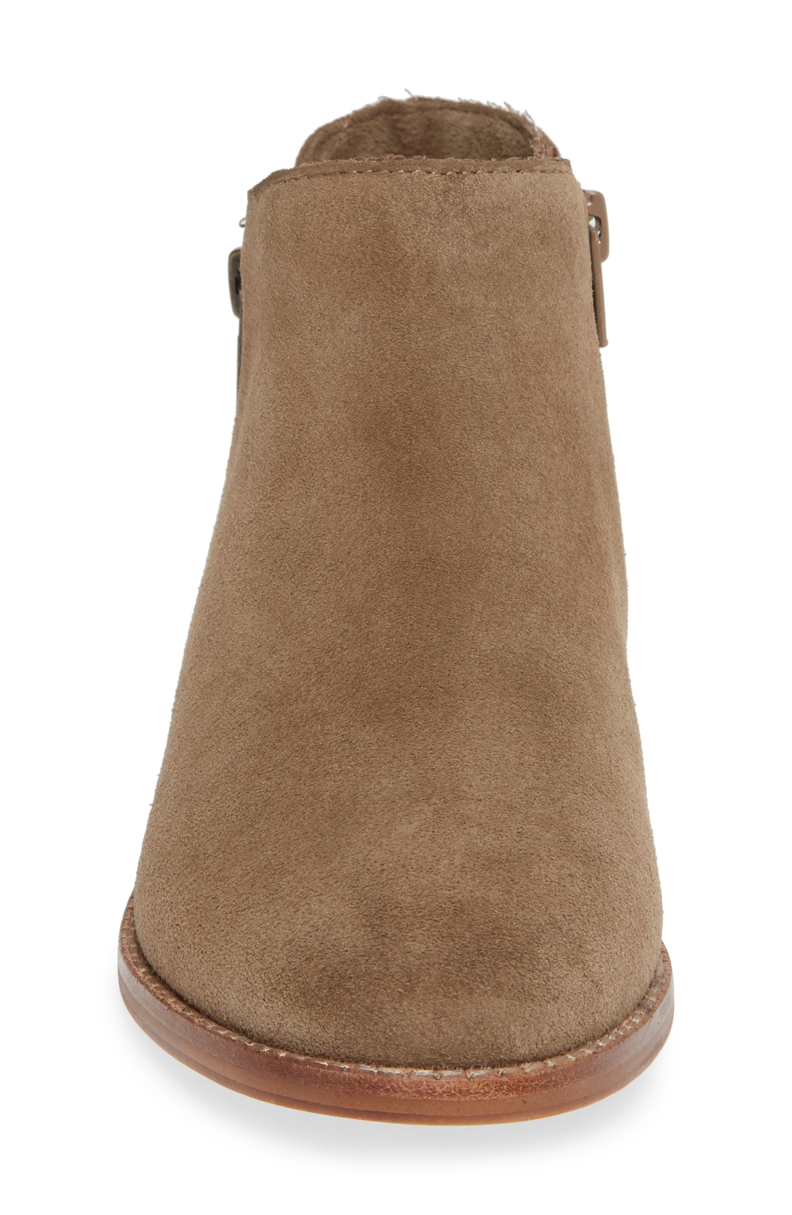 Bevlyn Bootie,                             Alternate thumbnail 4, color,                             ROCK SUEDE