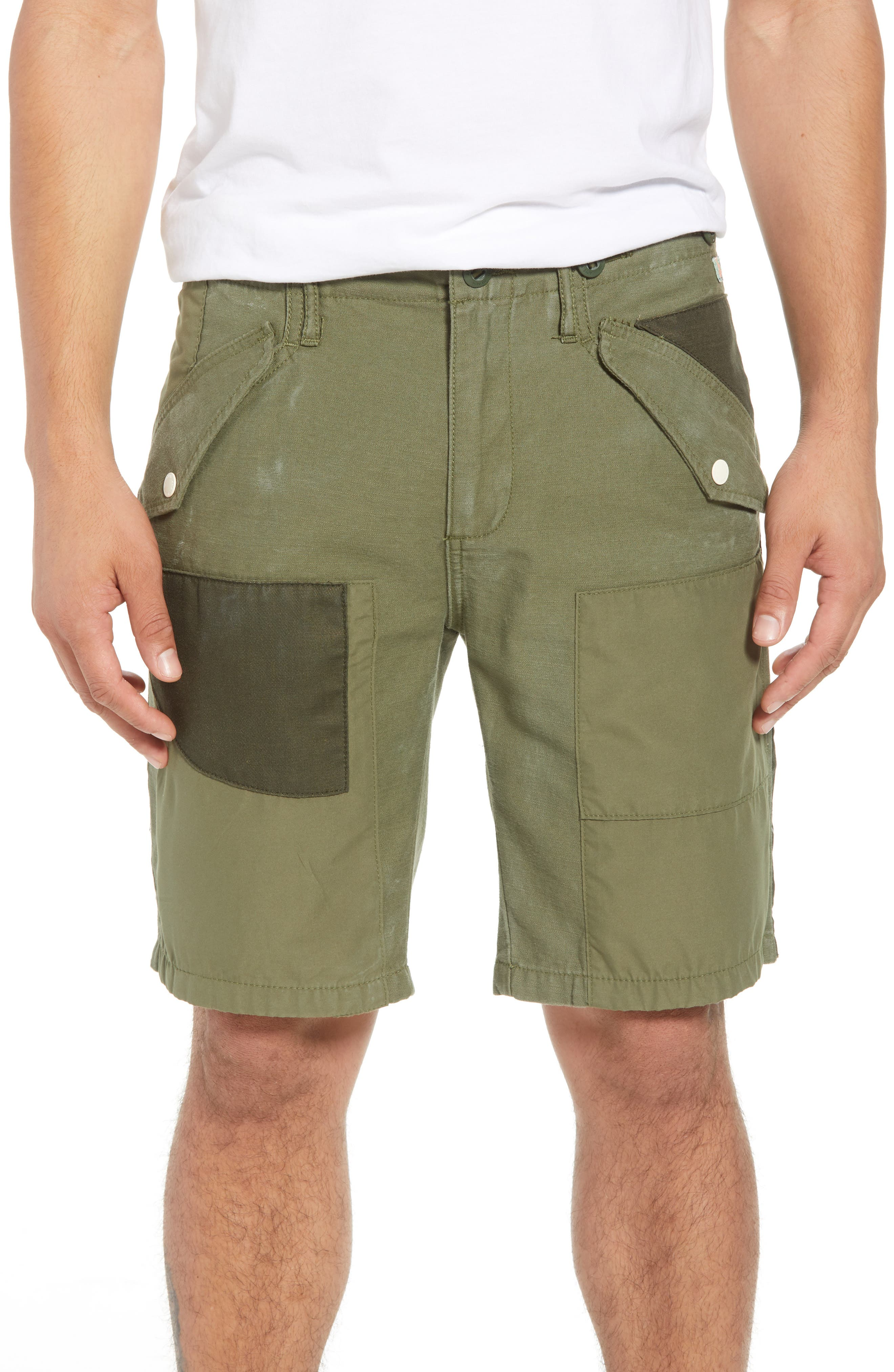 Scotch & Soda Cargo Shorts, Green