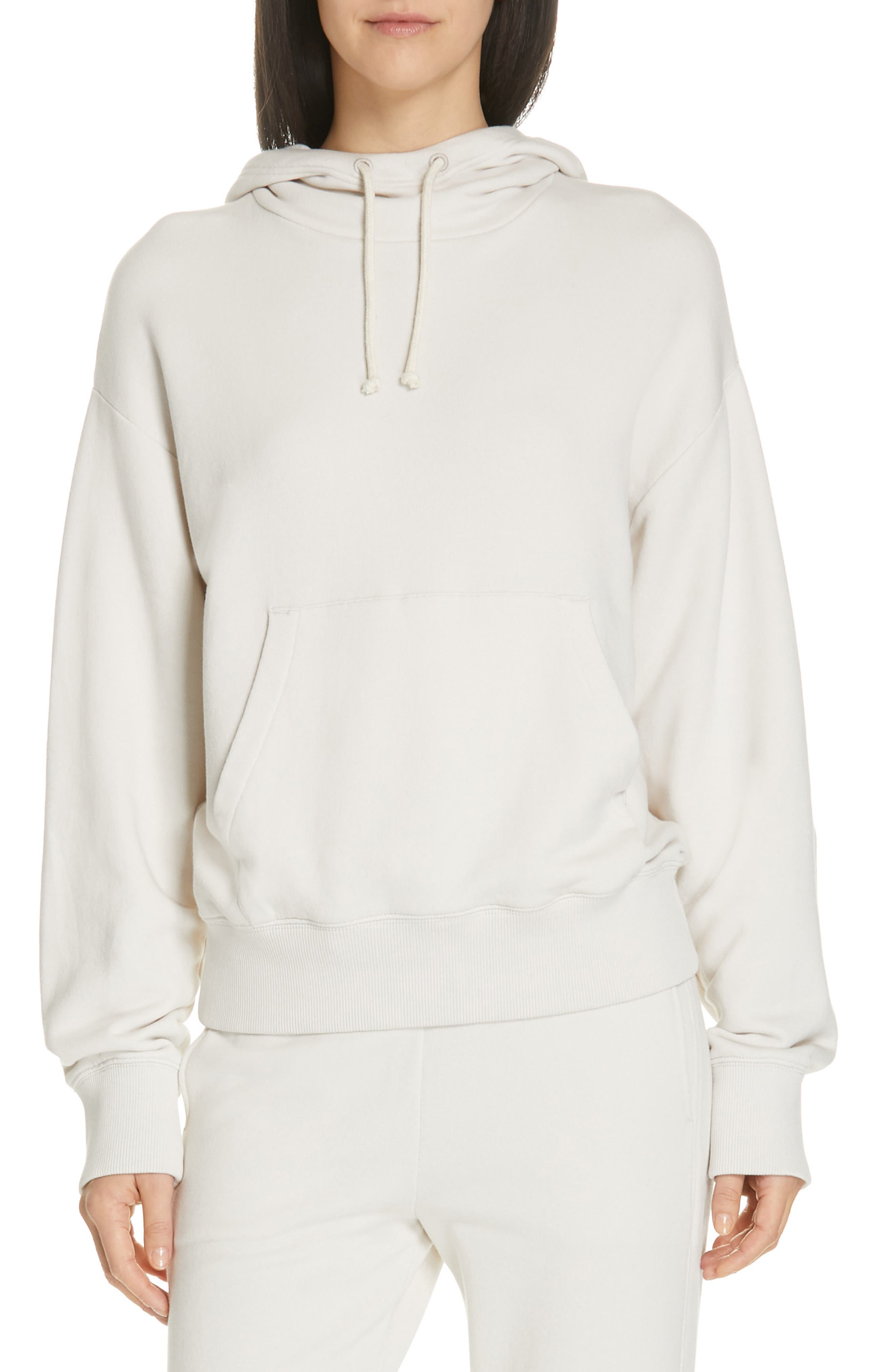 VINCE Hoodie, Main, color, BLANCH