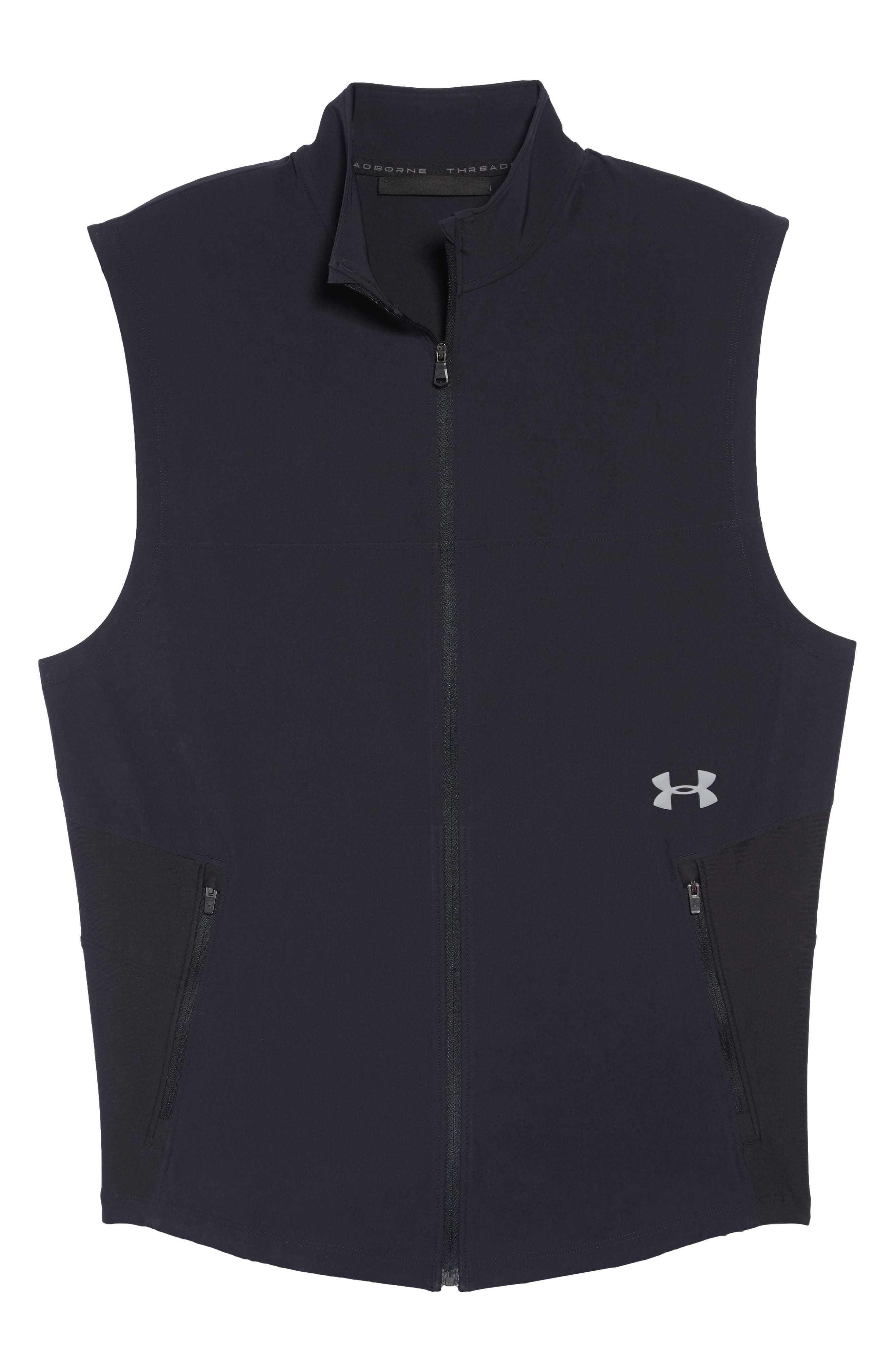 Threadborne Vanish Vest,                             Alternate thumbnail 6, color,                             001