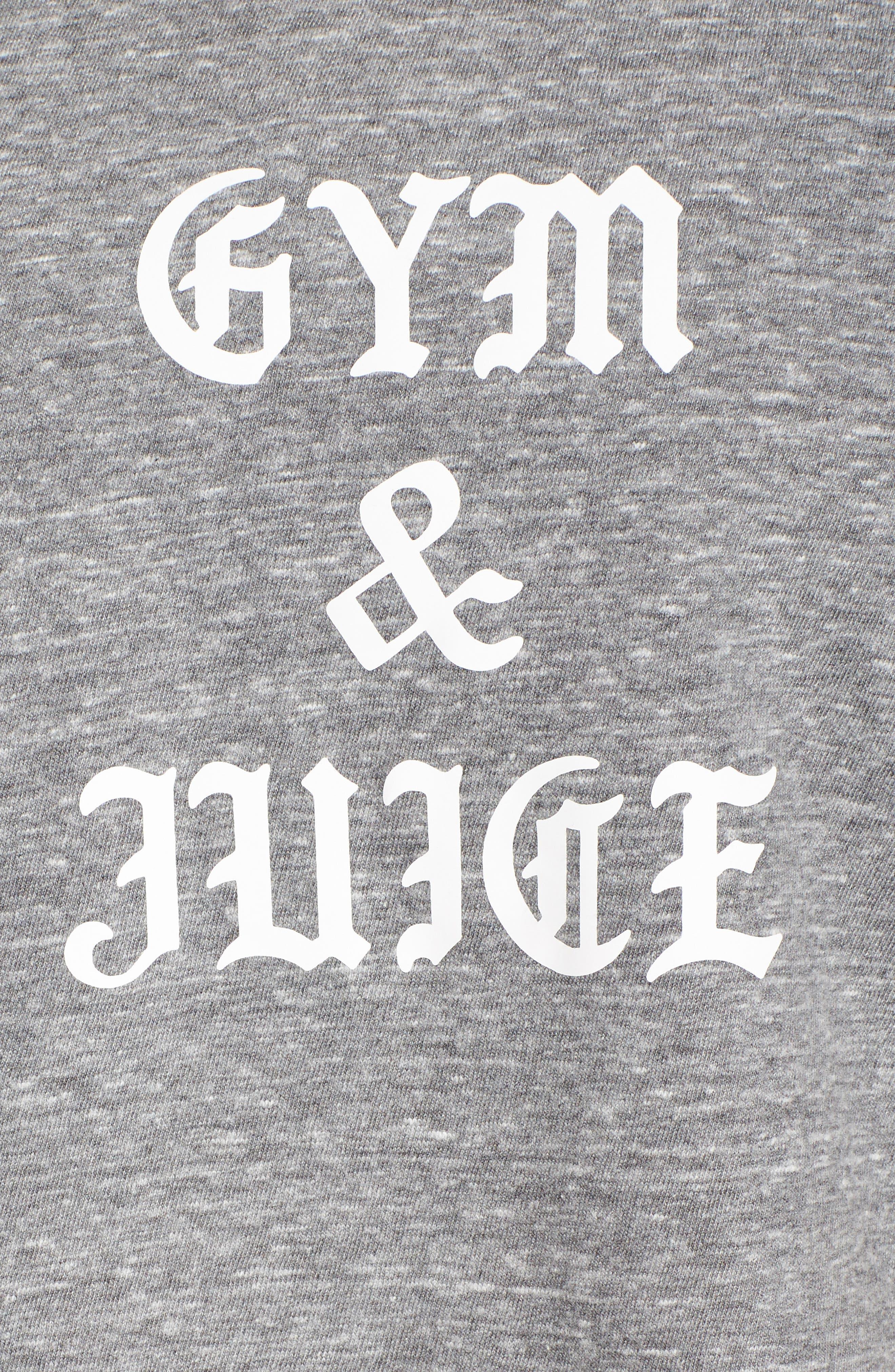 Gym & Juice Crop Tank,                             Alternate thumbnail 6, color,                             020