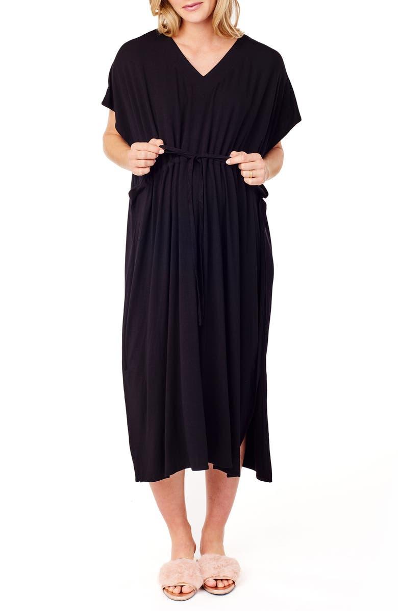 Ingrid & Isabel® x James Fox & Co. Maternity/Nursing Hospital Gown ...