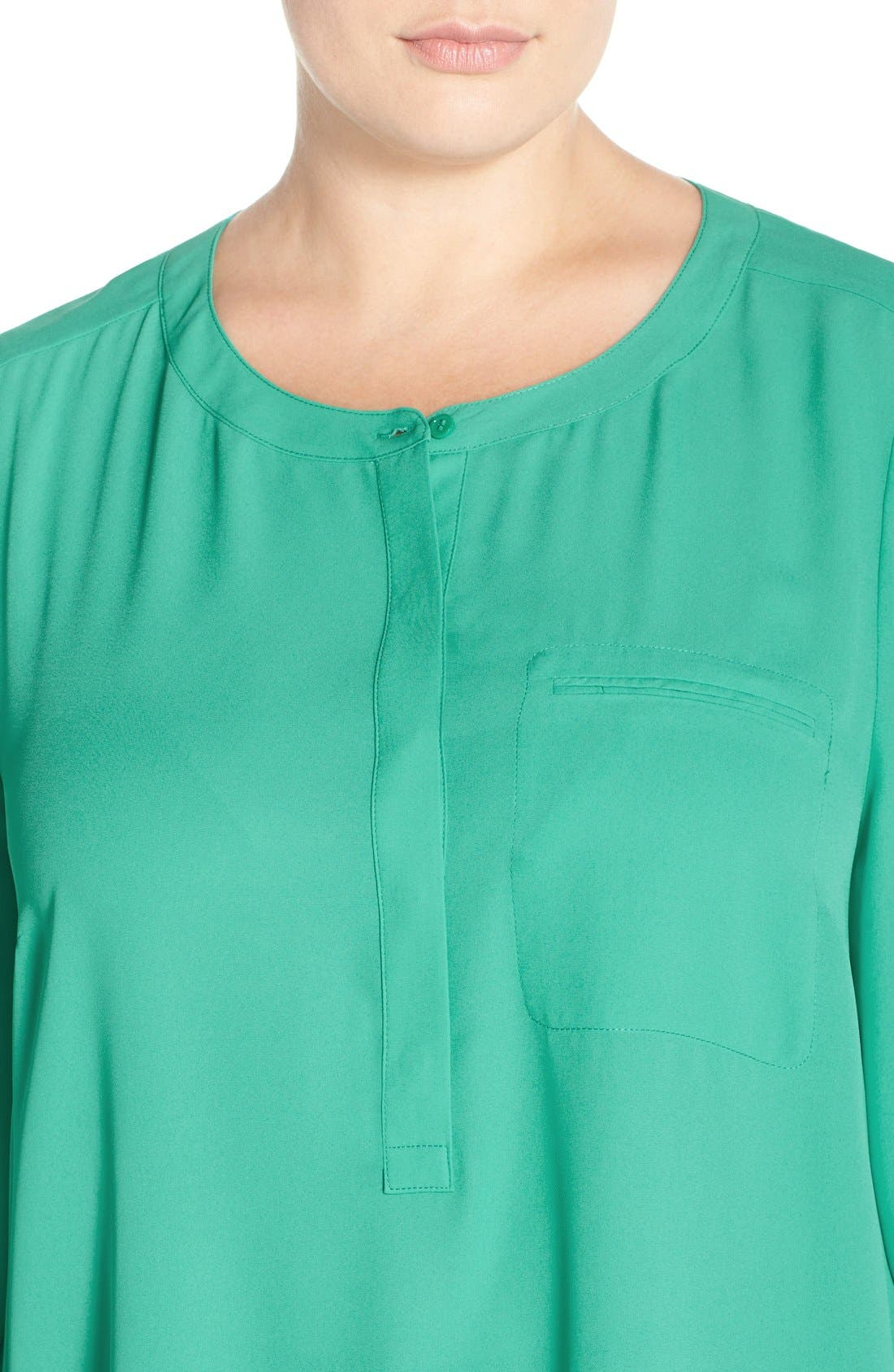 Henley Top,                             Alternate thumbnail 353, color,