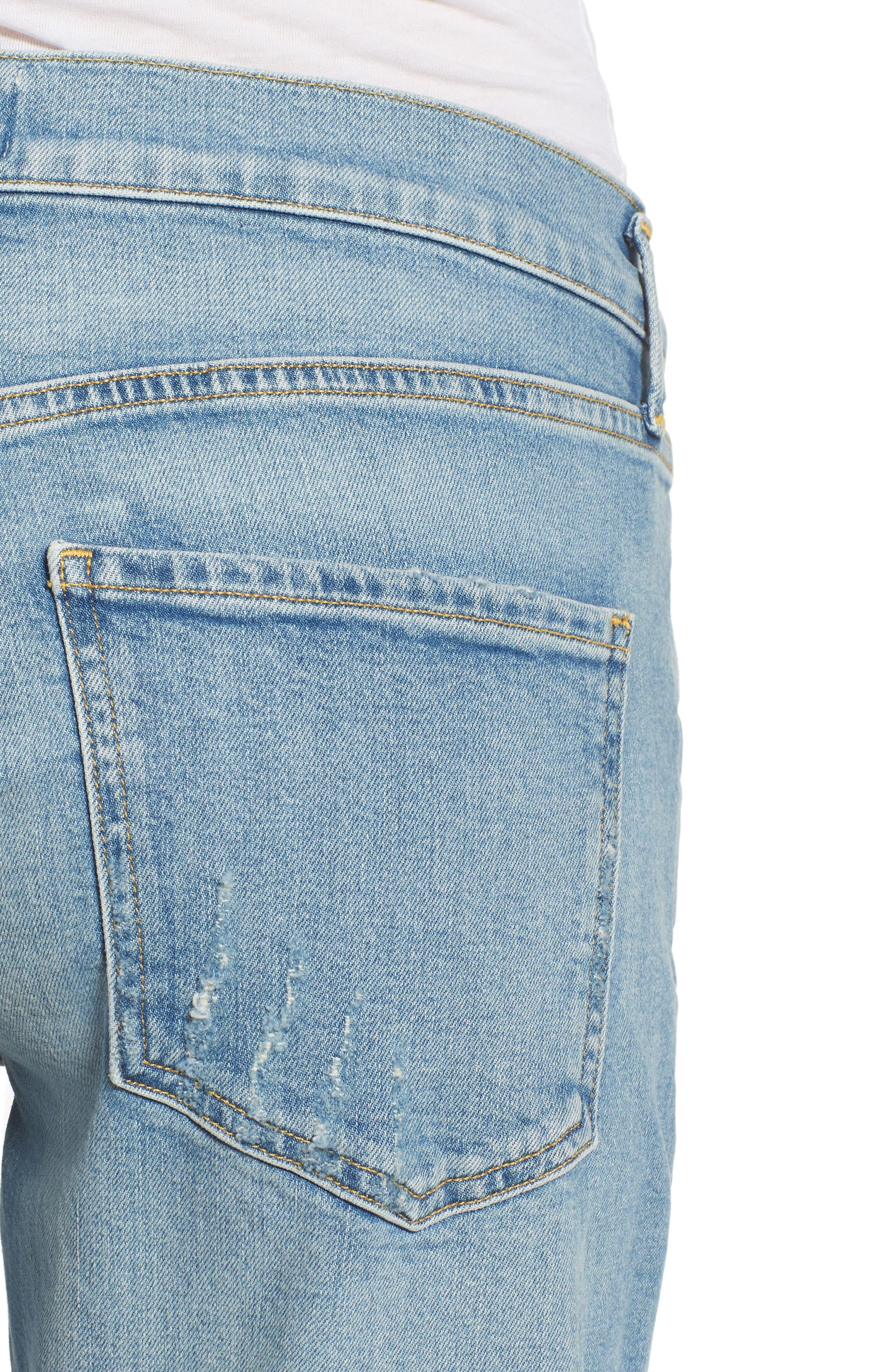 Isabel Ankle Slim Boyfriend Jeans,                             Alternate thumbnail 4, color,                             463