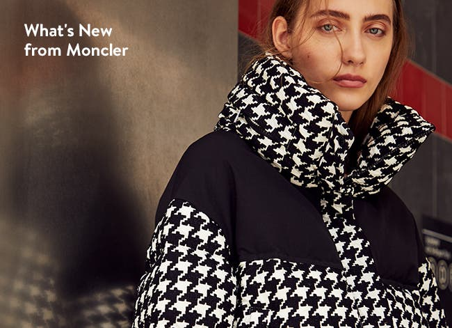 New outerwear from Moncler.