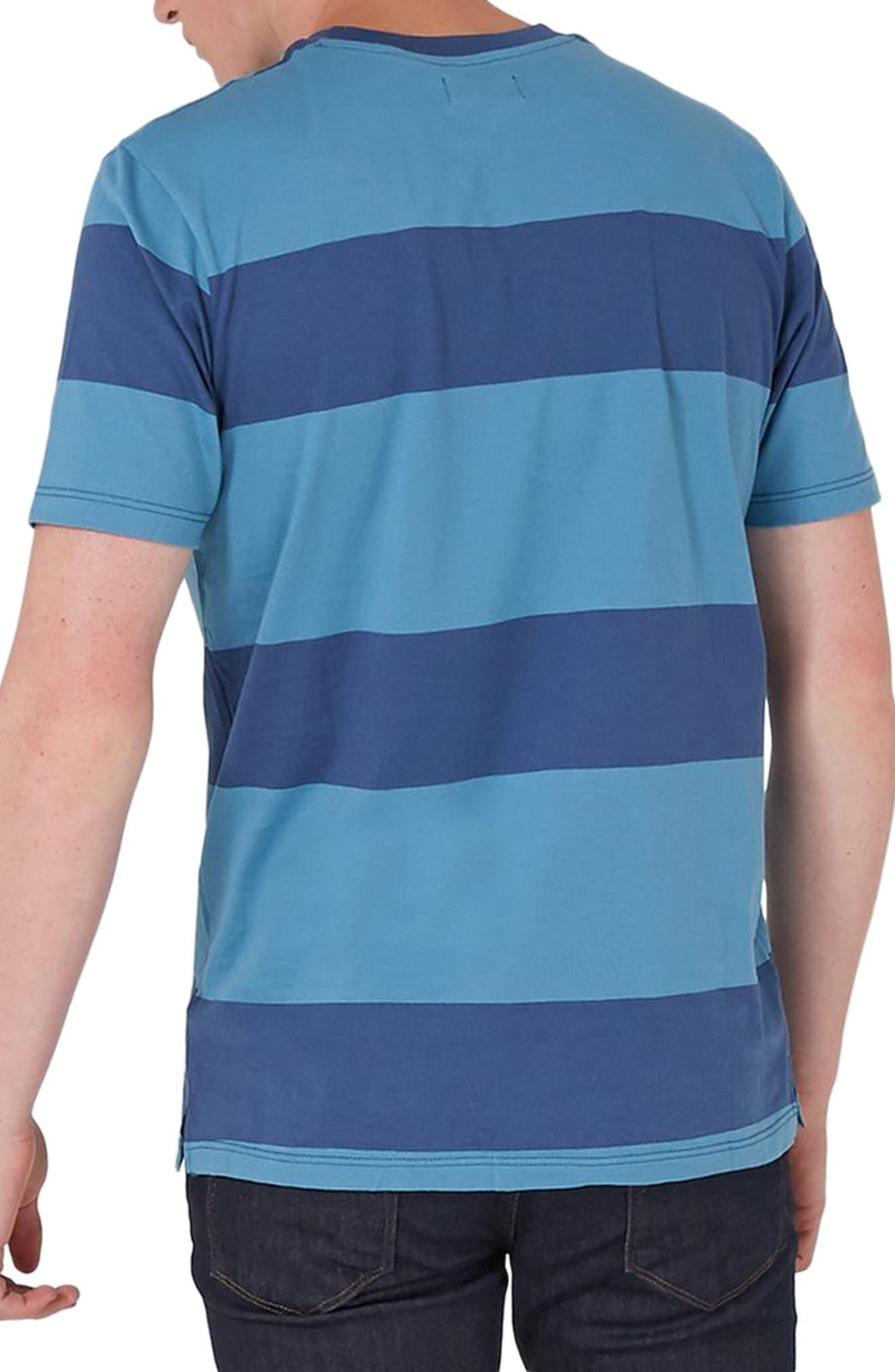 Stripe T-Shirt,                             Alternate thumbnail 2, color,                             401