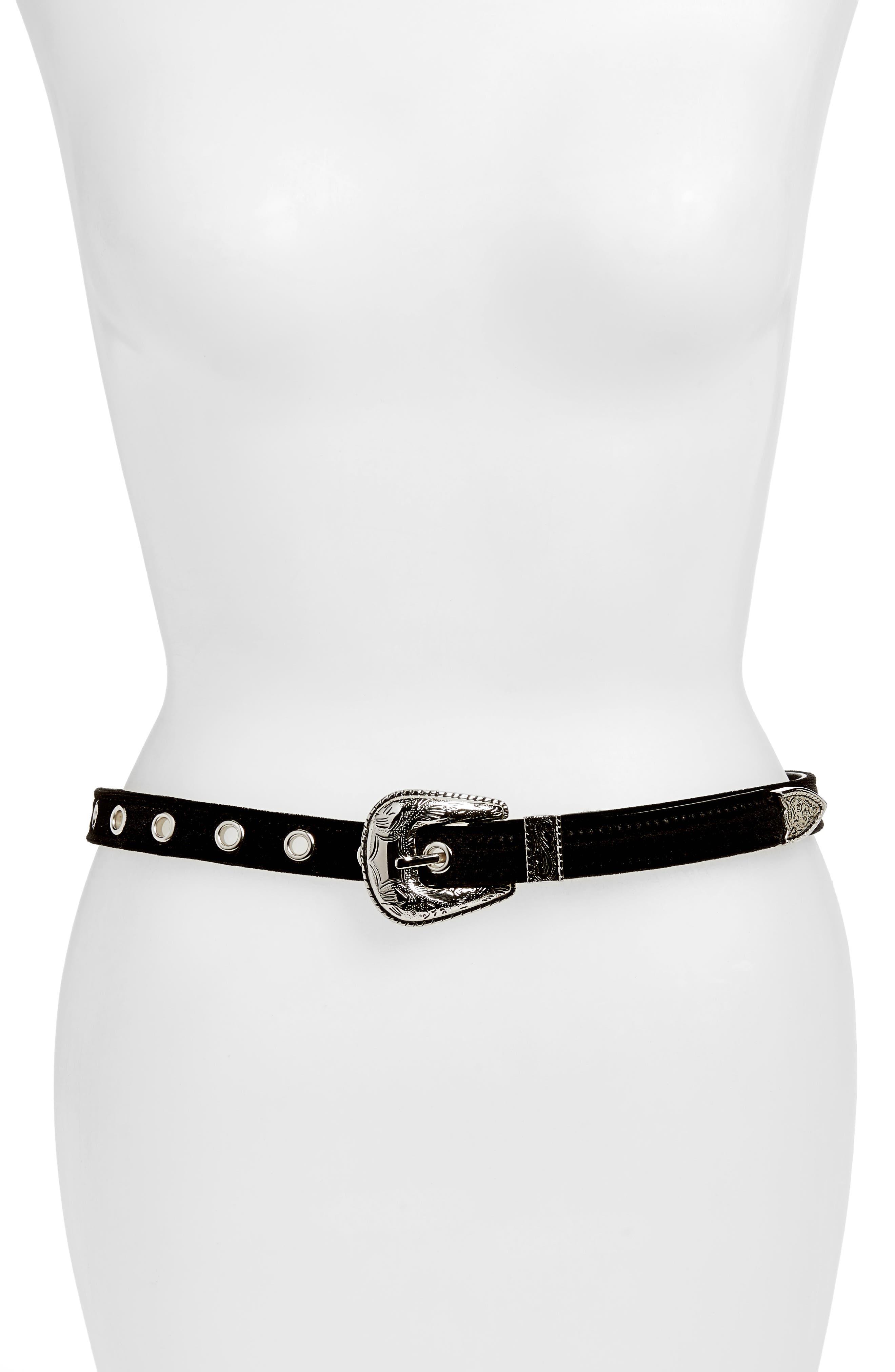 Baby Frank Velvet Hip Belt,                         Main,                         color,
