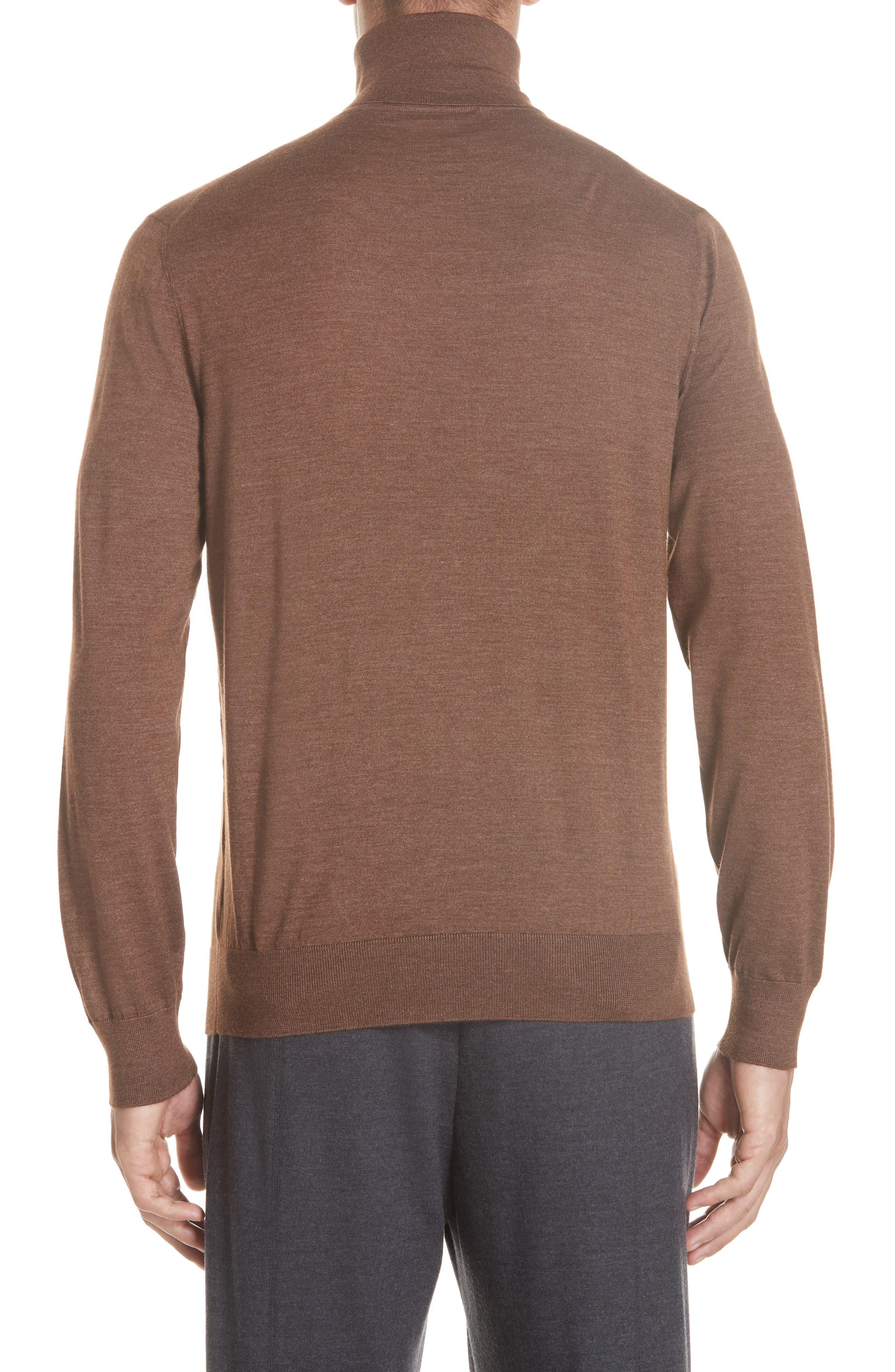 Cashmere & Silk Turtleneck Sweater,                             Alternate thumbnail 2, color,                             252