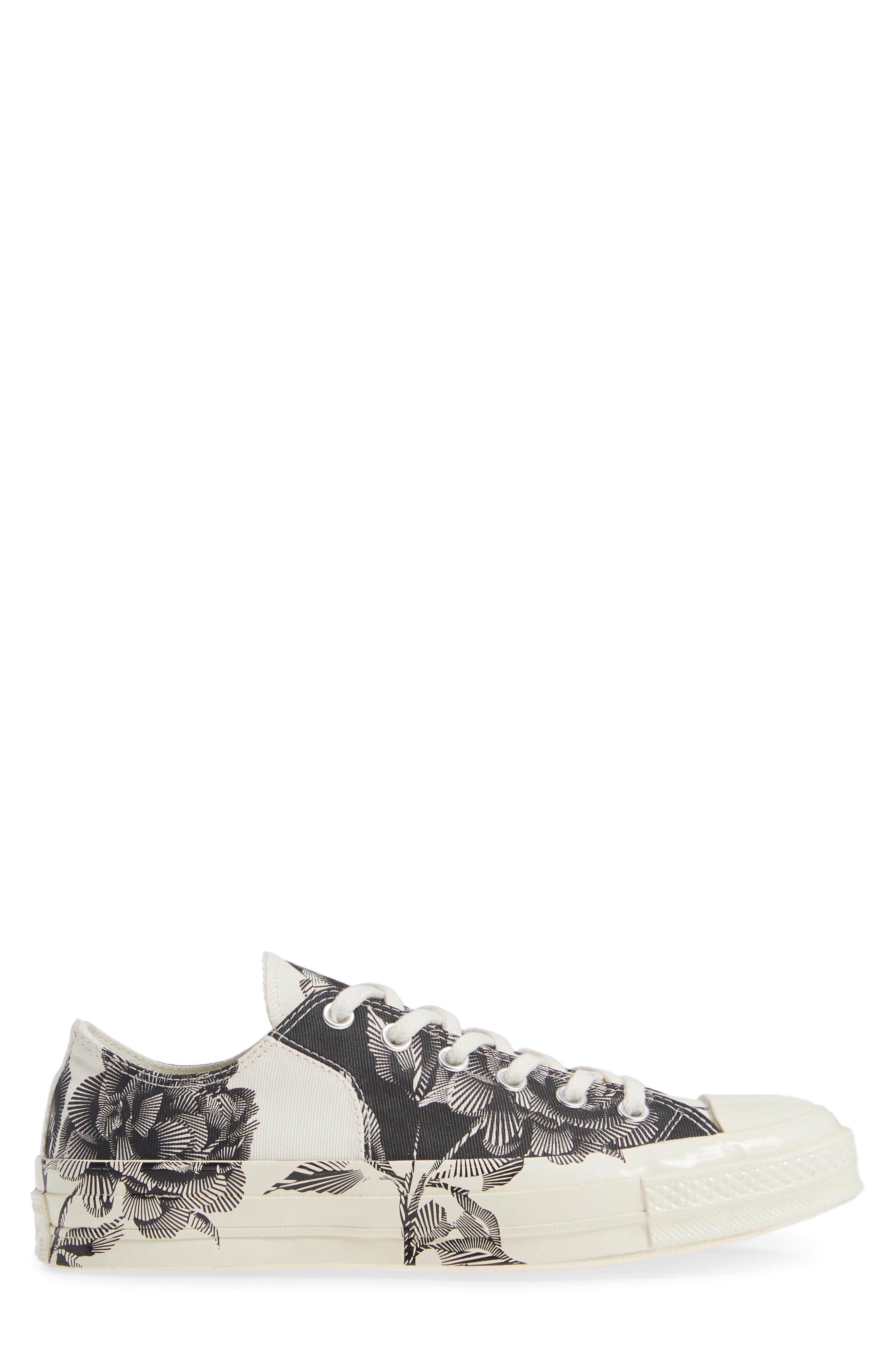 CT 70 Peony Low Top Sneaker,                             Alternate thumbnail 3, color,                             001