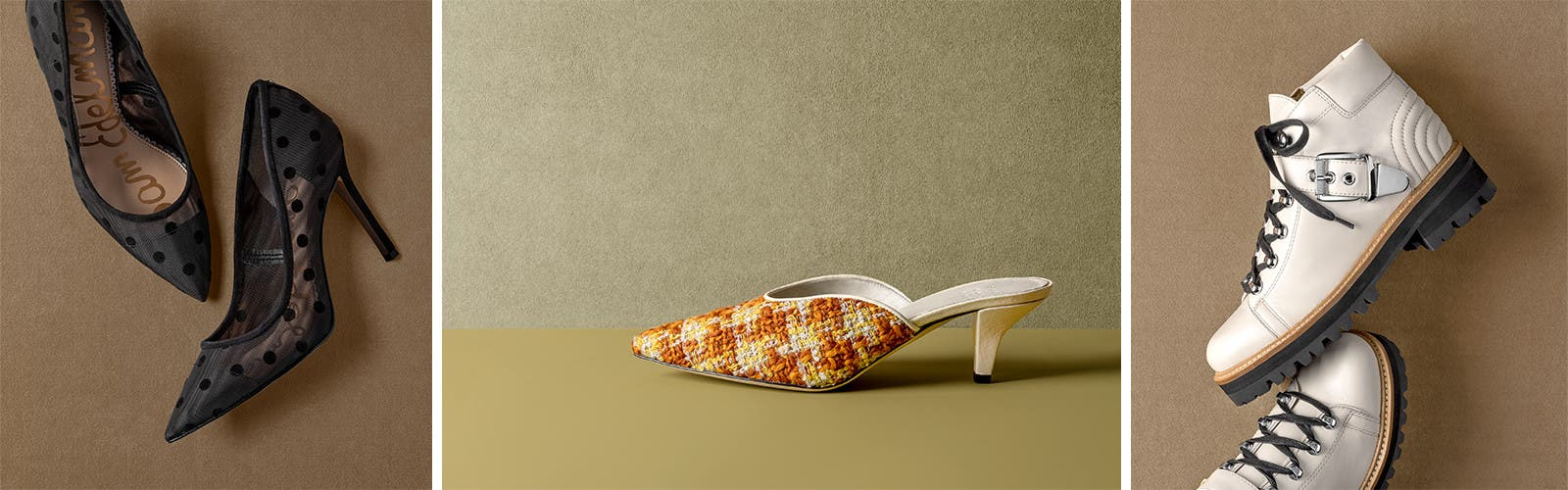 Your fall shoes are here.